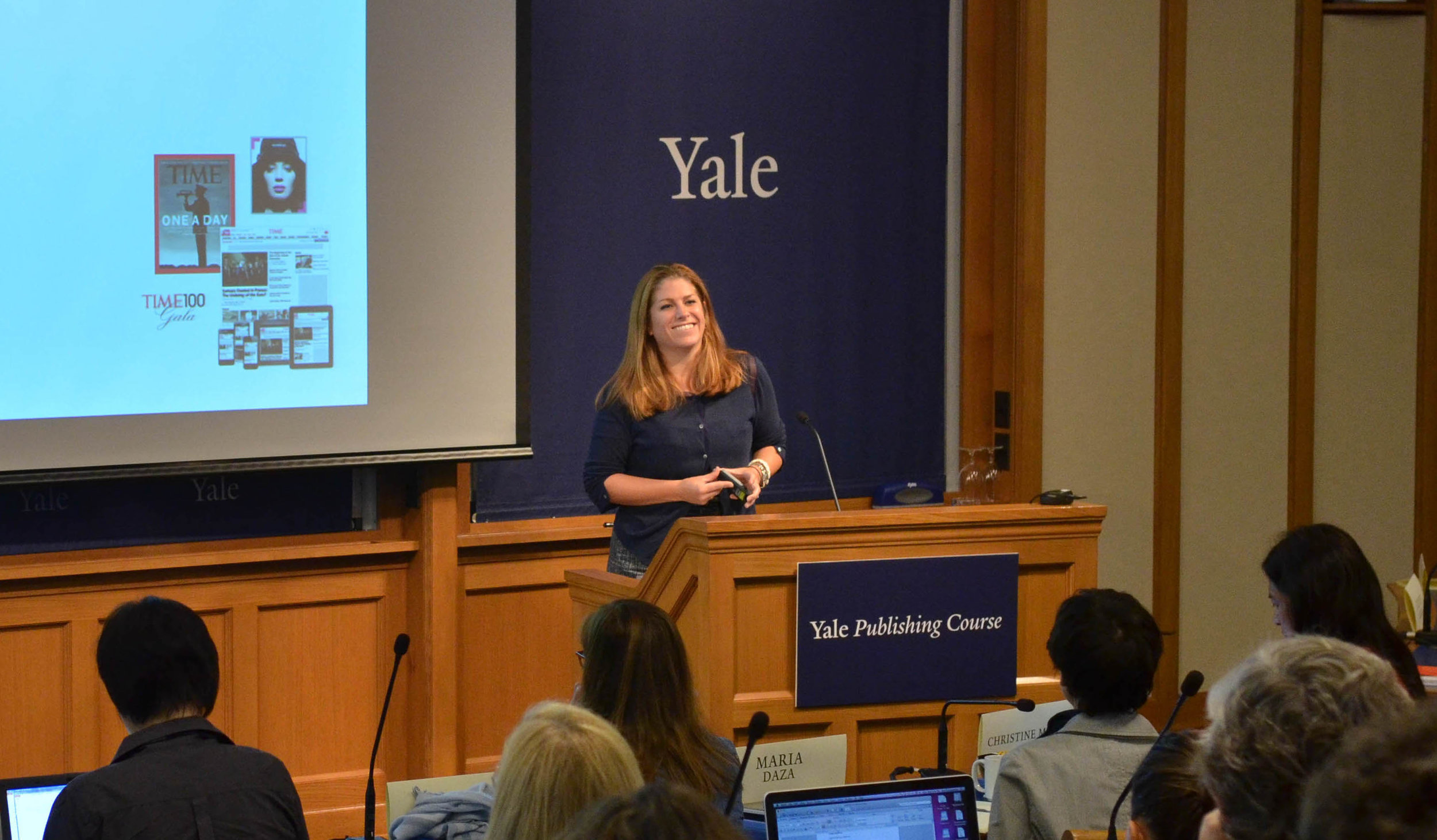 Yale Publishing Course Conference Speaker