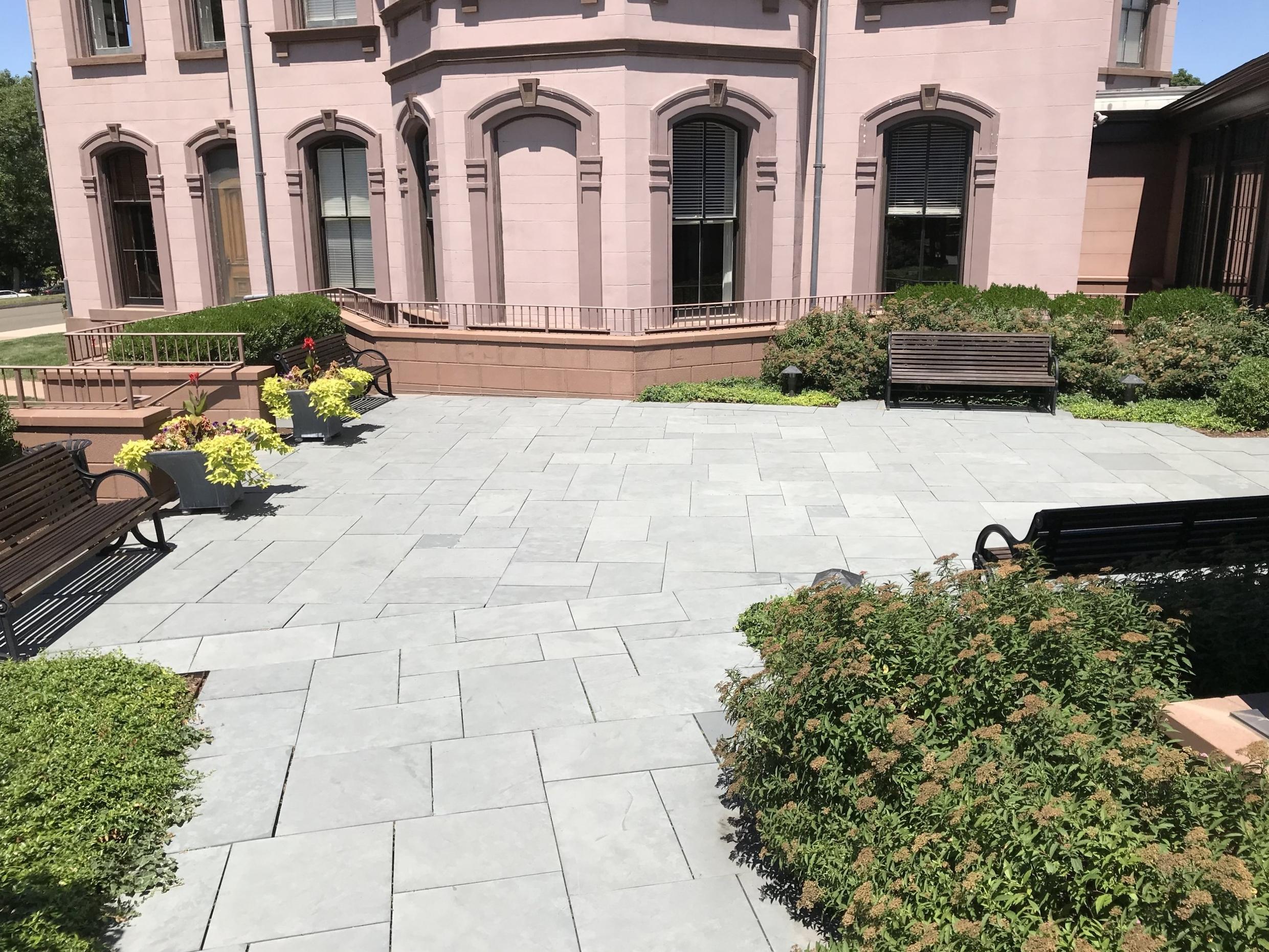 Greenberg New Haven Courtyard