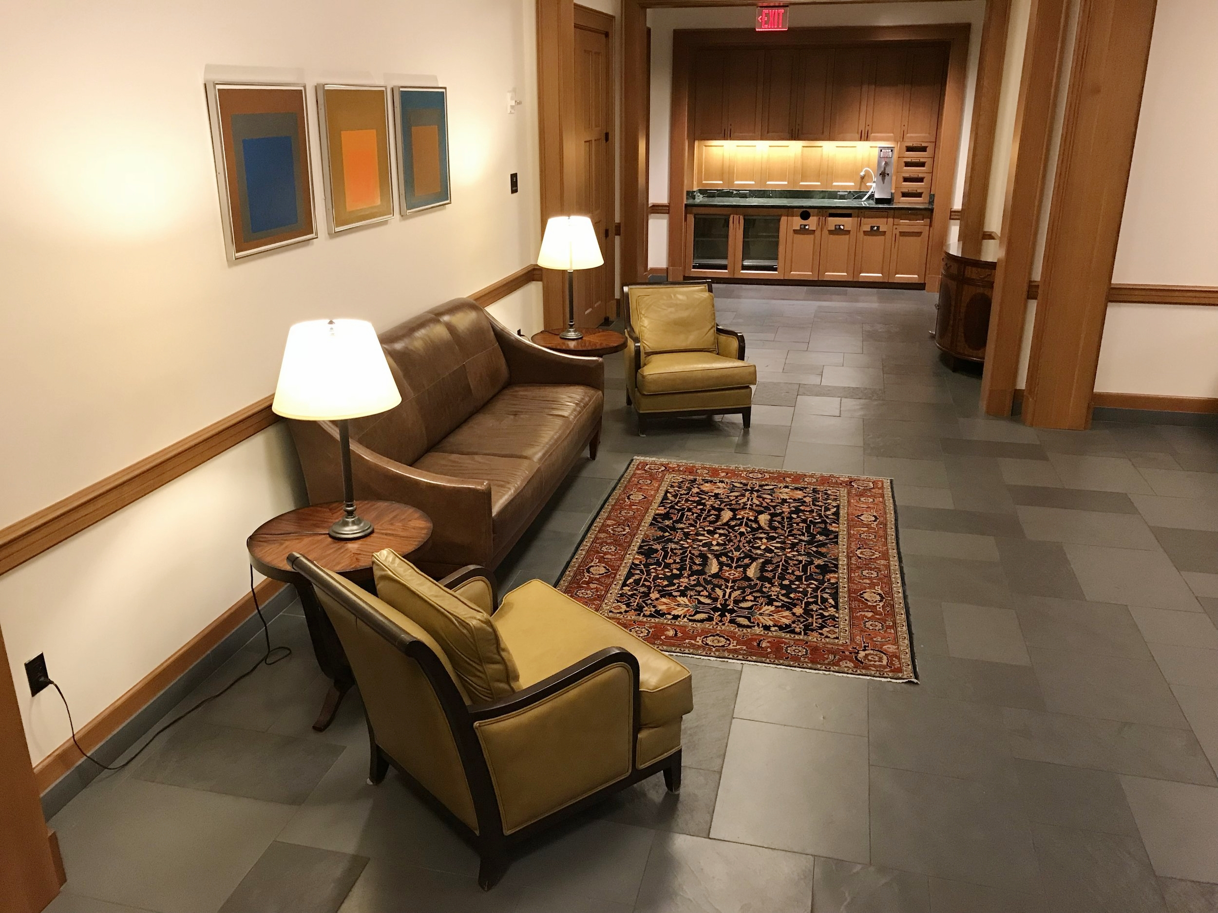 Conference Waiting Room