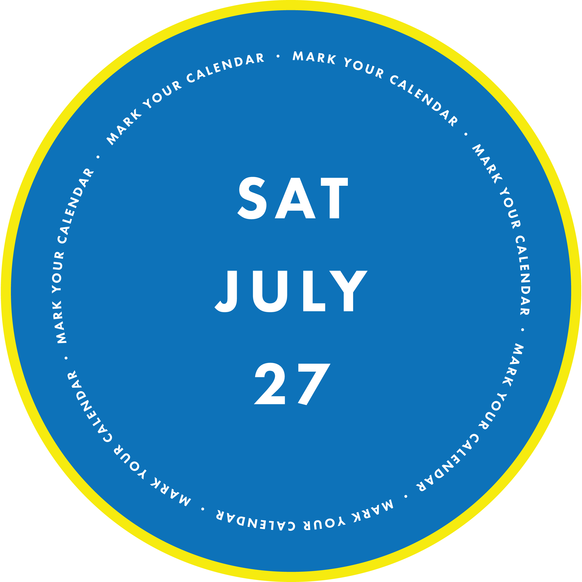 Saturday, July 27
