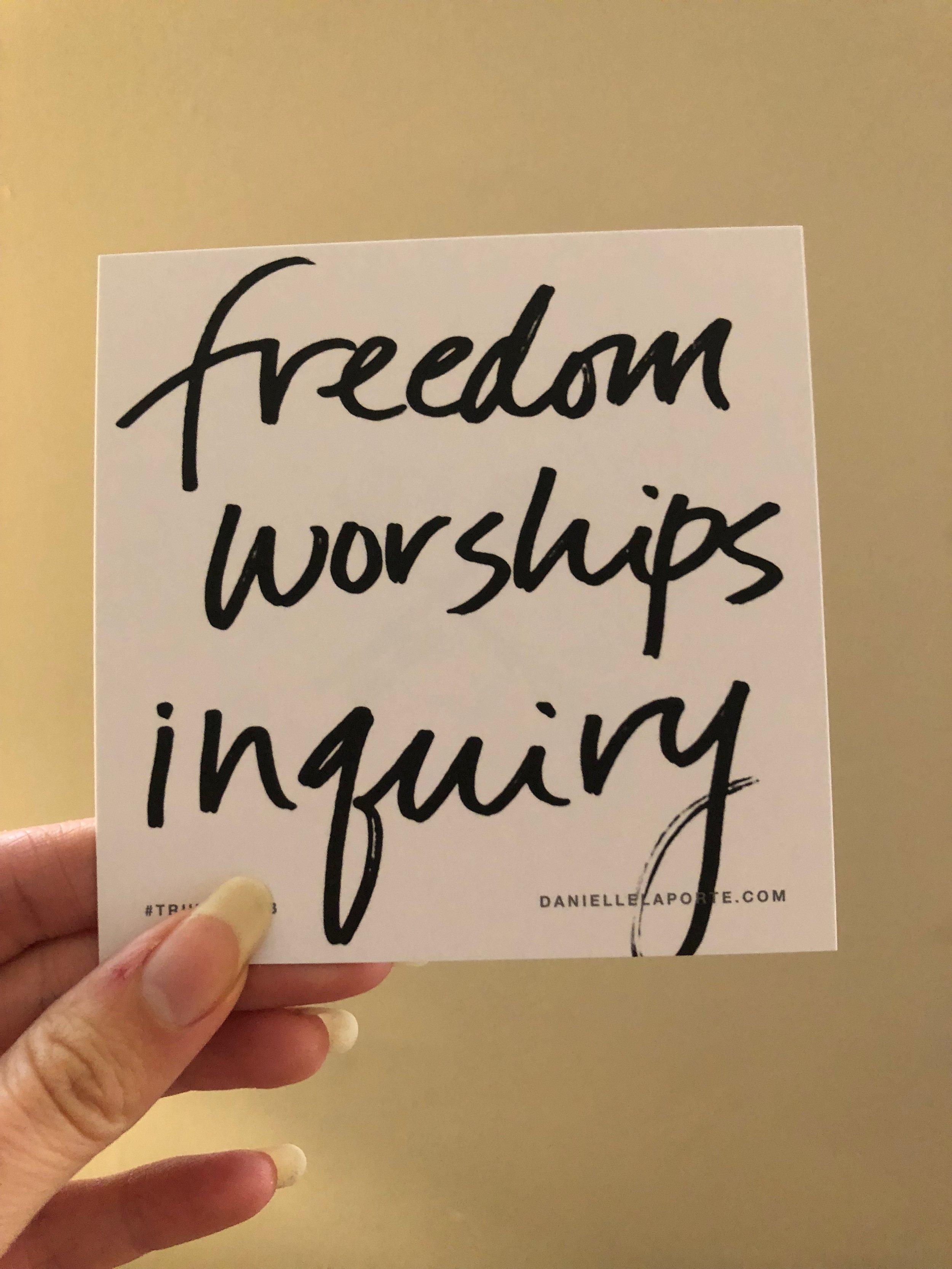 Freedom worships inquiry.JPG