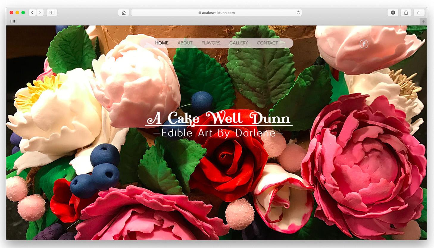 A Cake Well Dunn.  Edible art and confections by artist and baker Darlene Dunn.  www.acakewelldunn.com