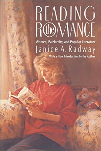 The cover of  Reading the Romance  by Janice Radway.