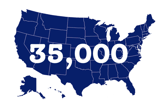 35,000 families!