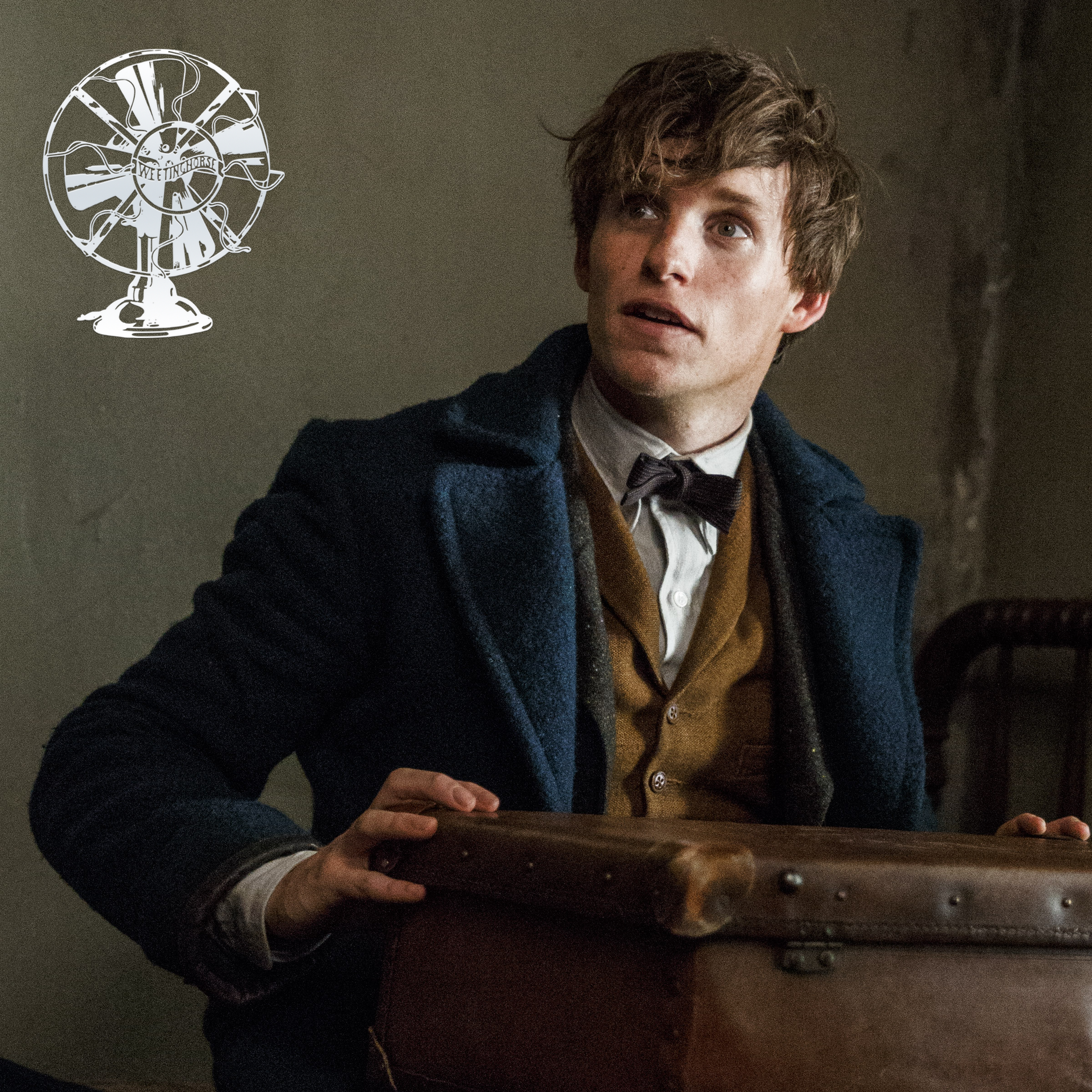 Episode 36's cover: Newt Scamander from  Fantastic Beasts and Where to Find Them.