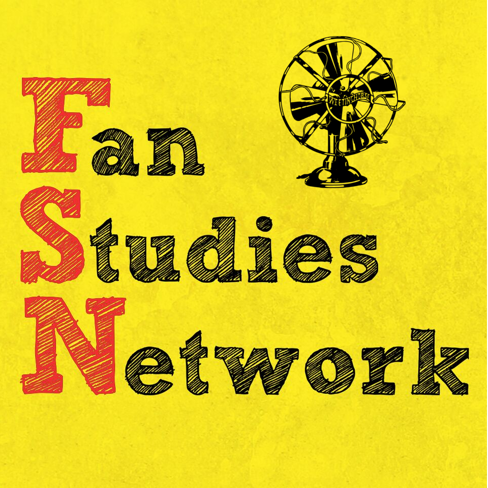Episode 78's cover: the Fan Studies Network logo.