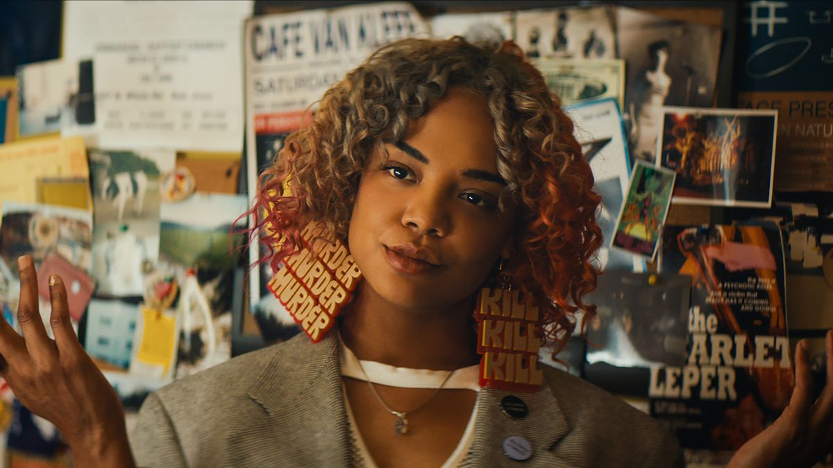 Tessa Thompson in  Sorry To Bother You.