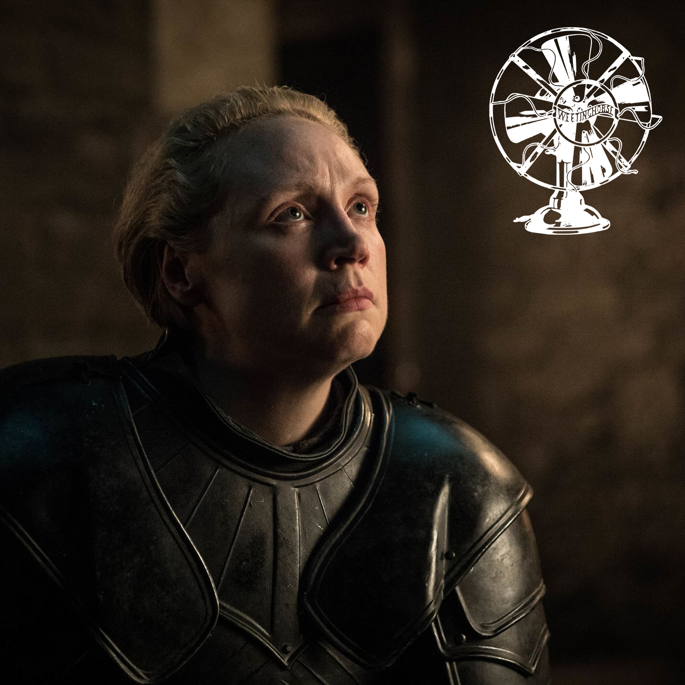 The cover of Episode 102: Brienne of Tarth.