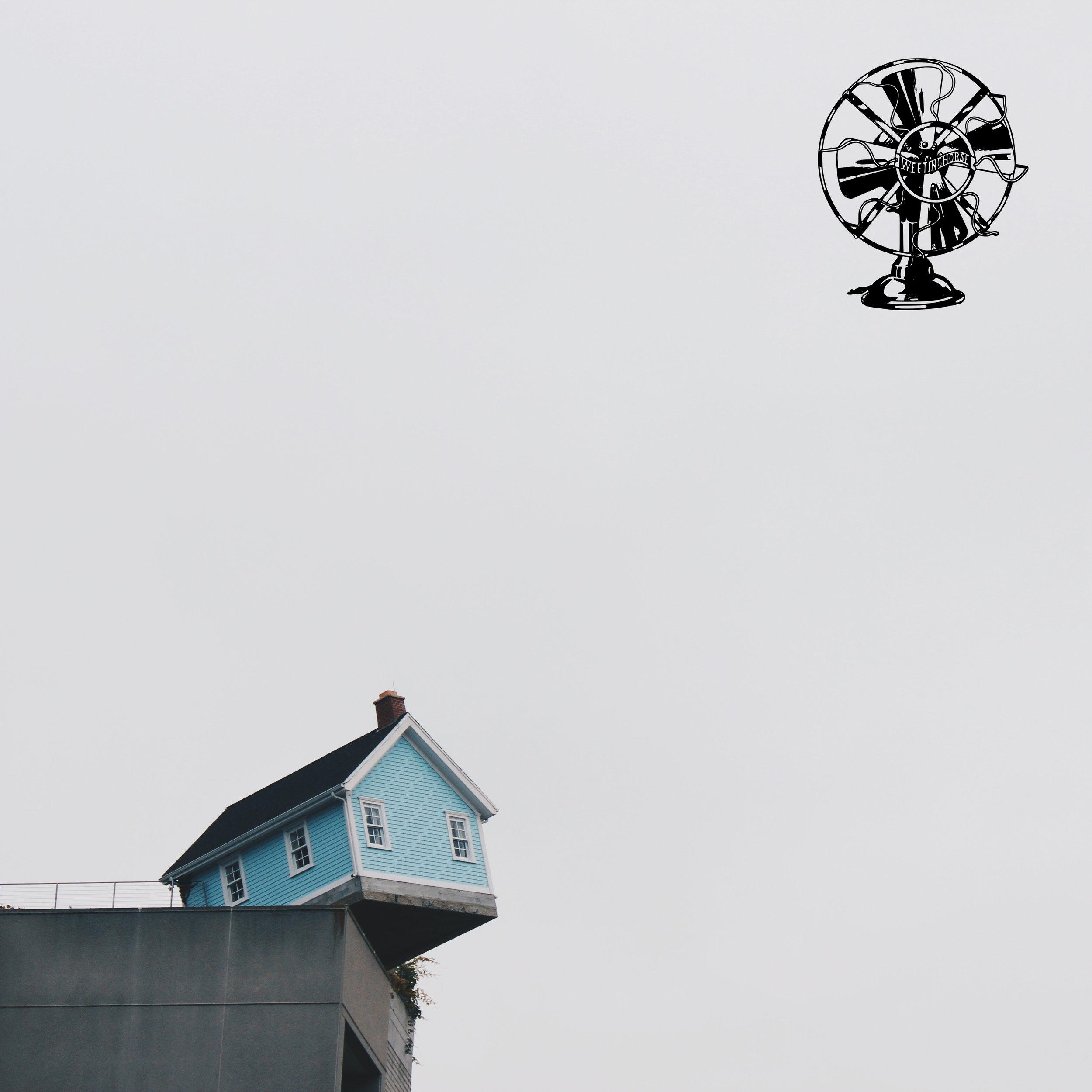 Episode 106's cover: a house on the edge of a precipice.