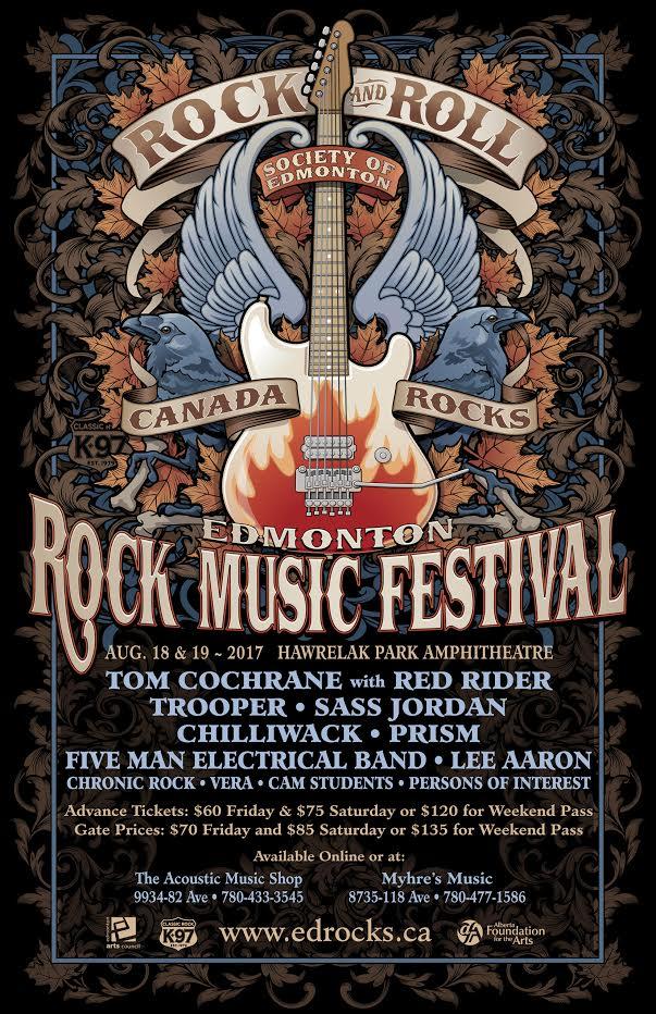 2017 Edmonton Rock Music Festival