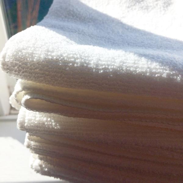 microfiber cloth save money