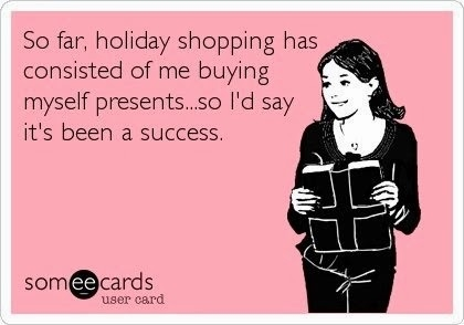christmas spending spree on myself presents for me.jpg