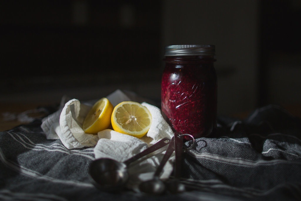 Mixed Berry Chia Seed Jam - Tiny Kitchen Co.