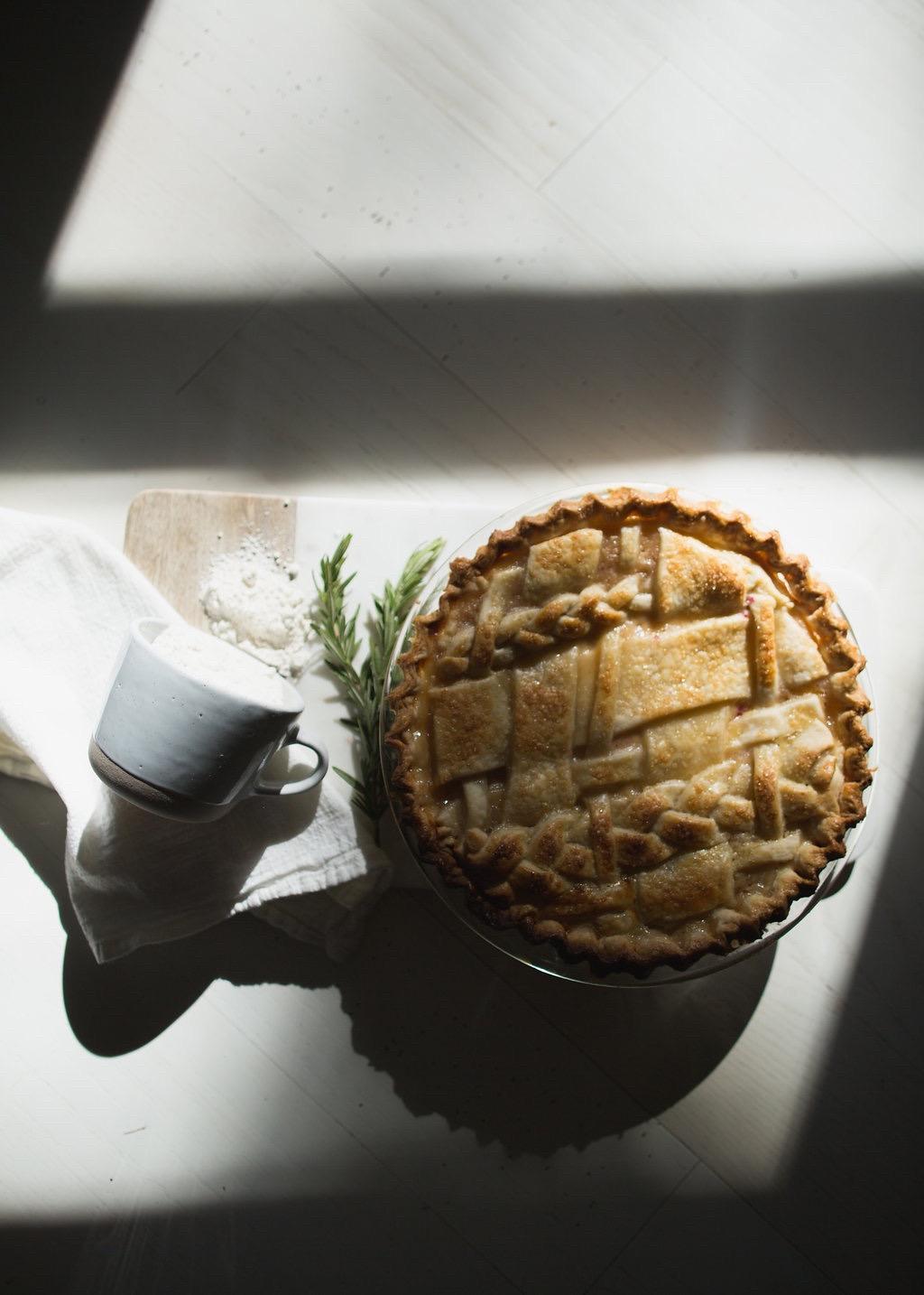 Peach Pie - Tiny Kitchen Co.