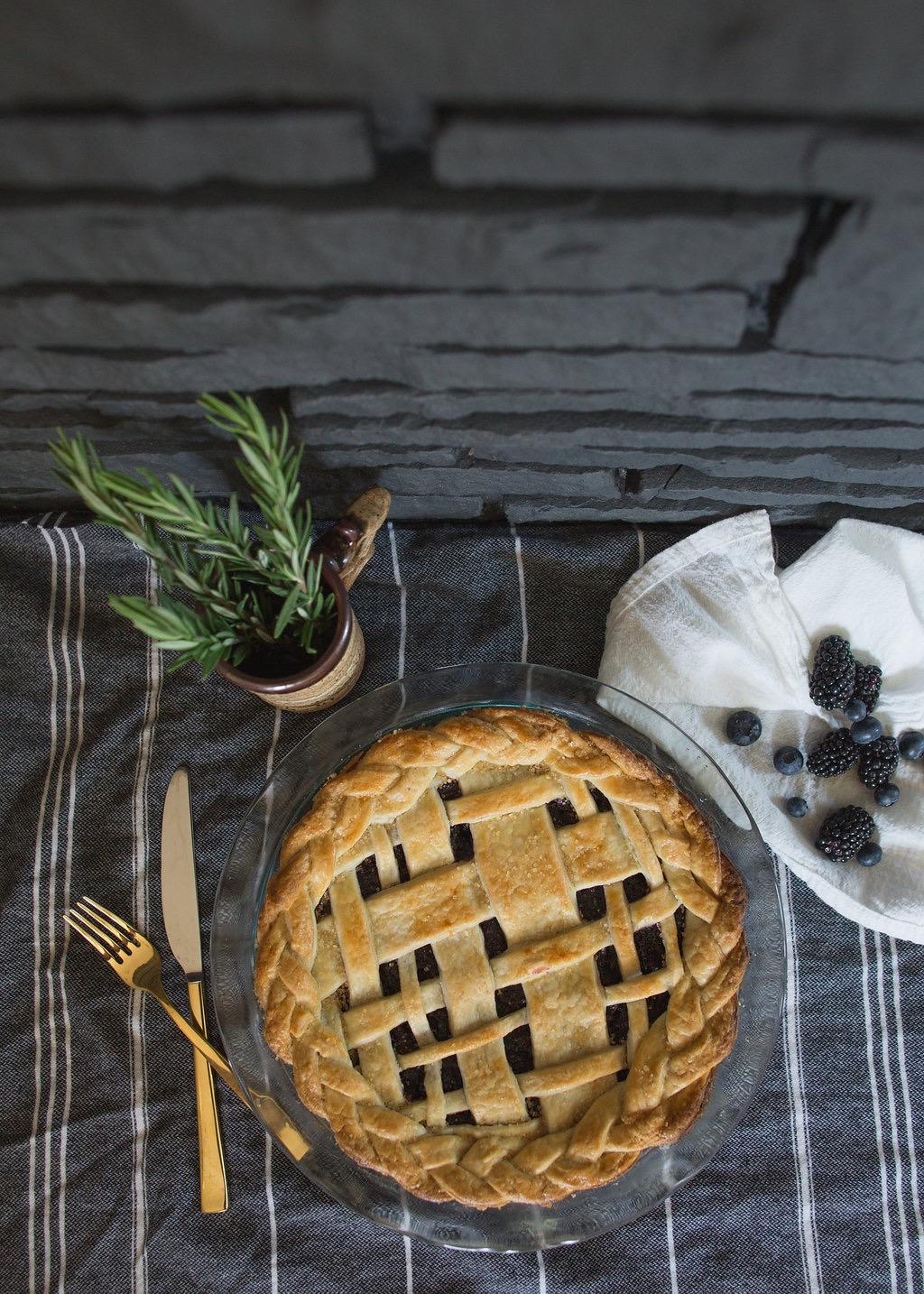 Blueberry Pie - Tiny Kitchen Co.