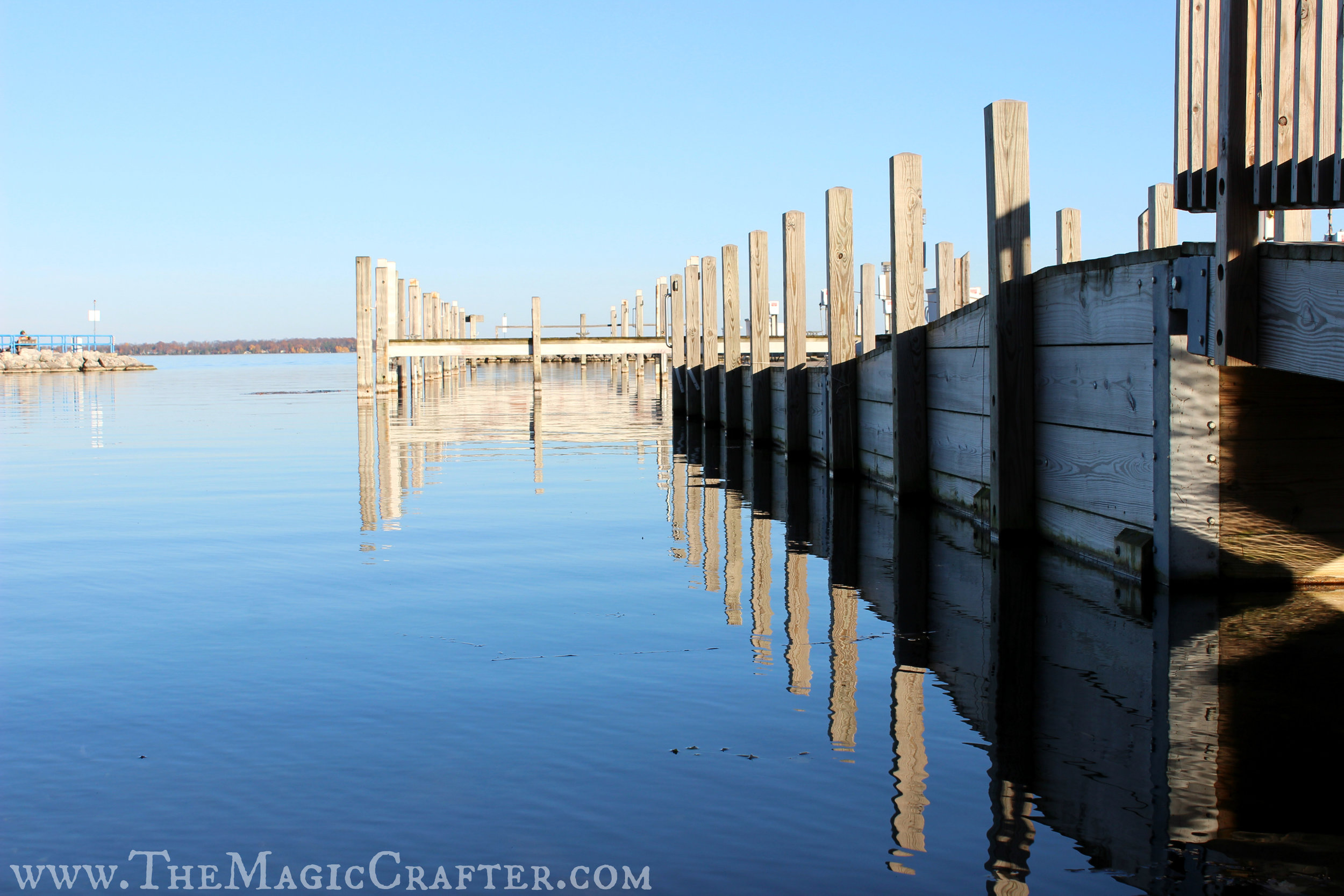It's hard to think that just a few weeks ago these docks were still flooded with boats! I wonder where everyone ventured off to? I wonder how they are doing?