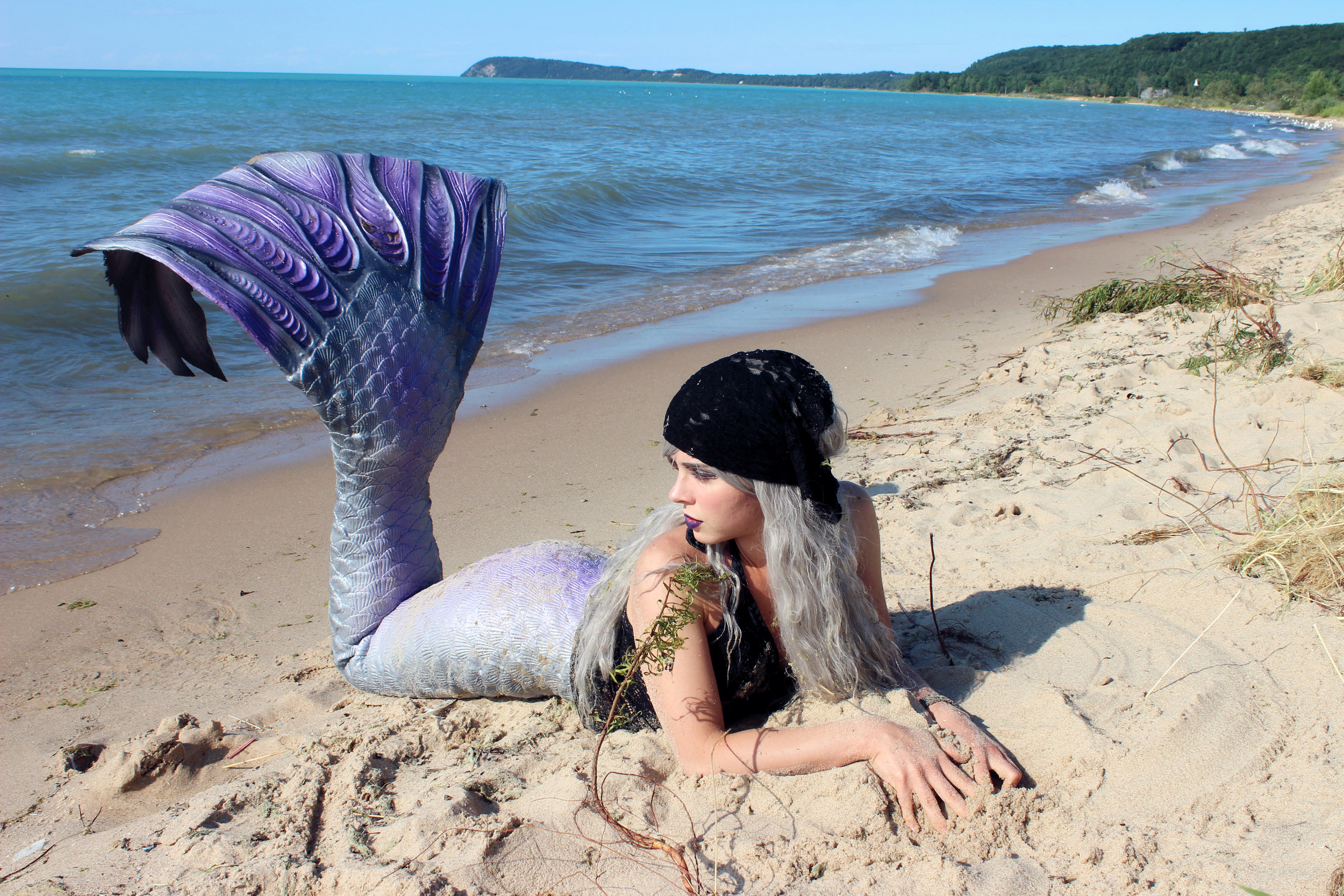 Do you like this picture? You can buy it (and many more mermaid pictures) over on my Redbubble shop, which you can find by clicking the photo of me as a pirate-mermaid. :)You can buy it as a photographic print, or on various objects such as coffee mugs, Tote Bags (my favorite!), pillows, and much more. ♥
