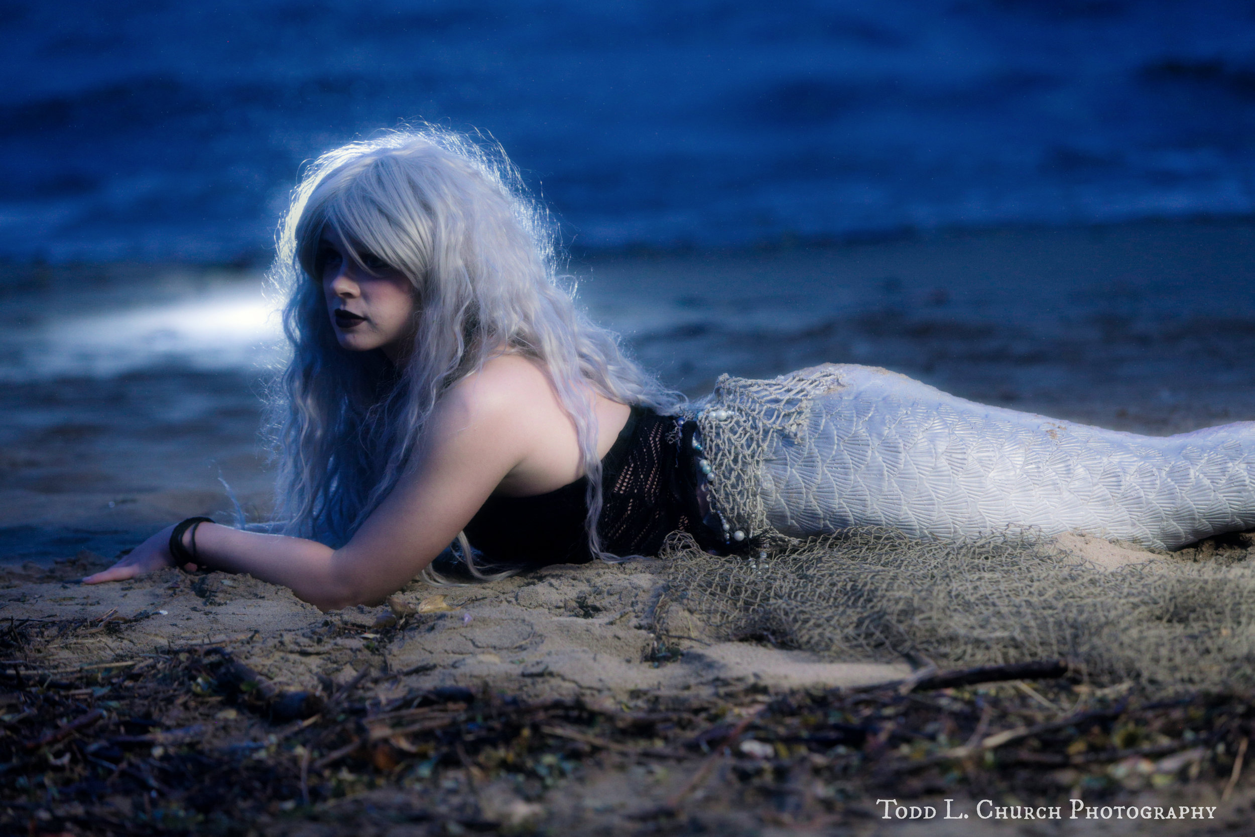 The Lady of the Lake: Professional Mermaids are scattered all across the world. Although most live in oceans and seas, this mermaid calls the Great Lakes of Northern Michigan her home. This picture was taken in Traverse City, Michigan.  Photo by: Todd L. Church Photography, Model: Mermaid Phantom of www.themagiccrafter.com