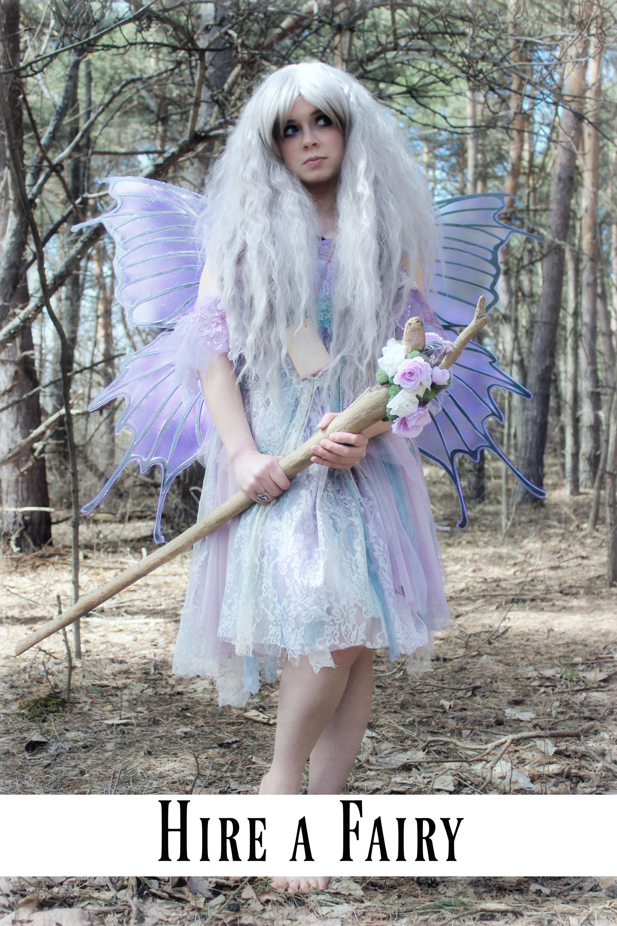 Fairy Princess for hire! Need a realistic fairy to come visit you for a special event or party? Hire Phantom the Glitter Fairy, in Traverse City, Michigan. She is willing to travel as well. CLICK HERE to learn more.