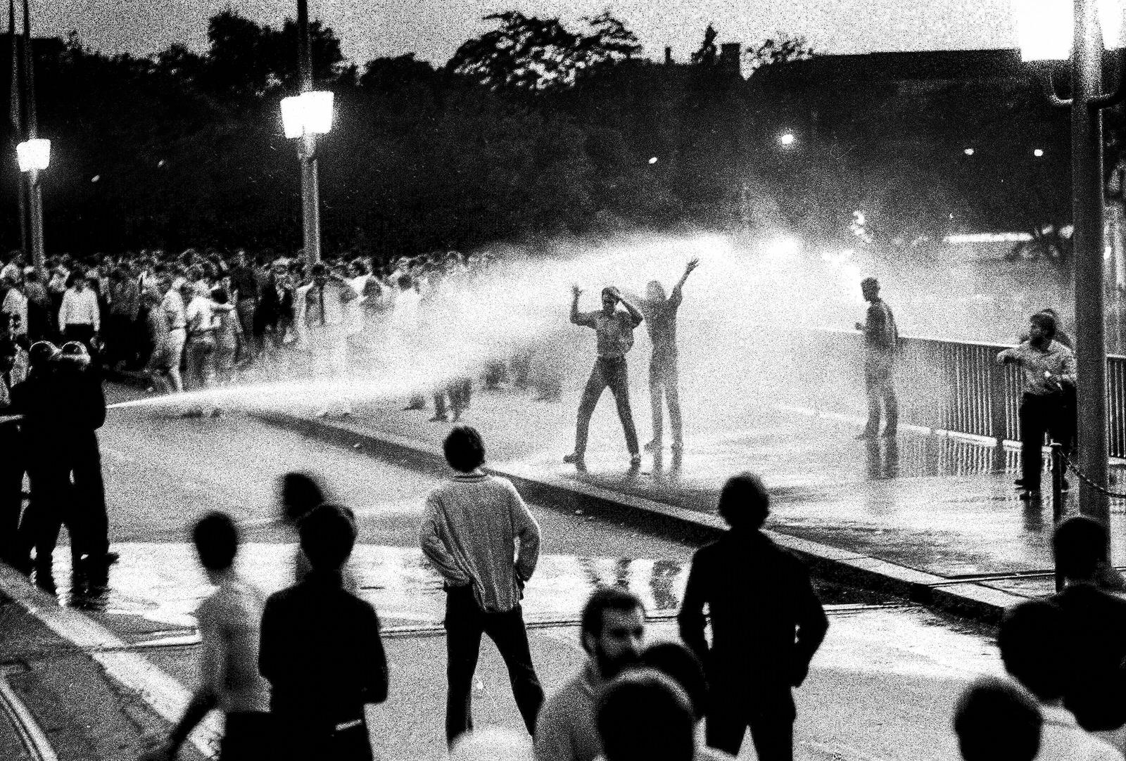 Zürcher Unruhen 1968, Quaibrücke, 29. Juni 1968