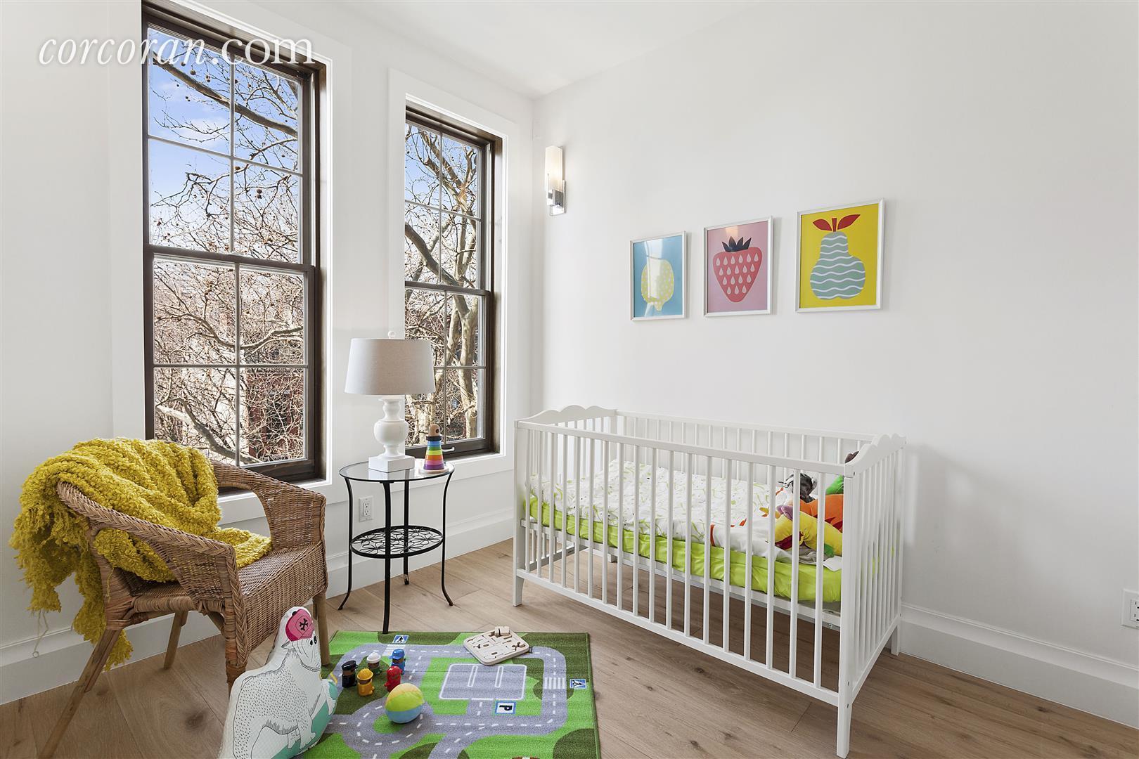 Well-Lit Second Bedroom