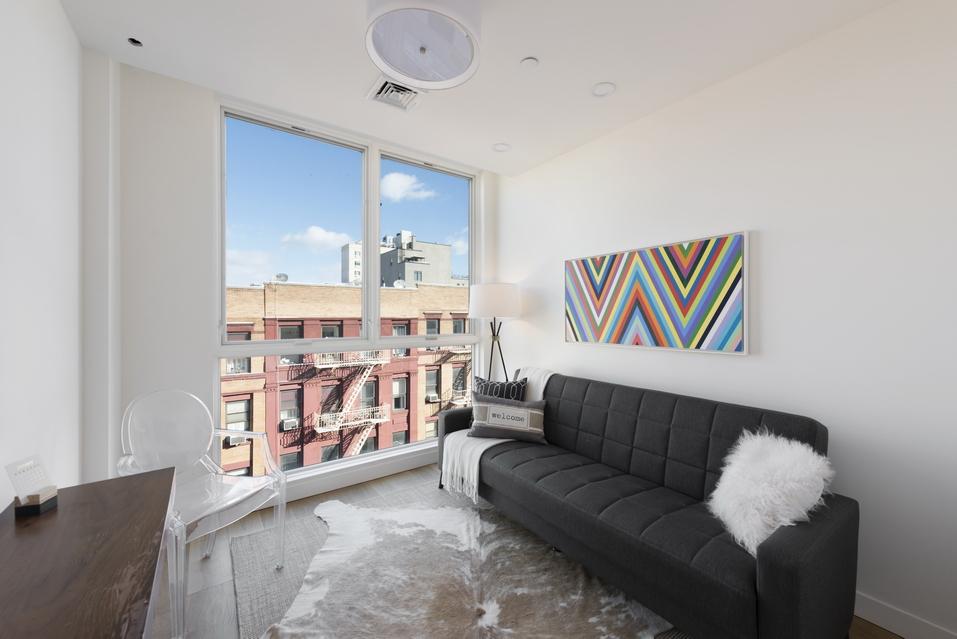 Living Room of New Luxury Condo Development