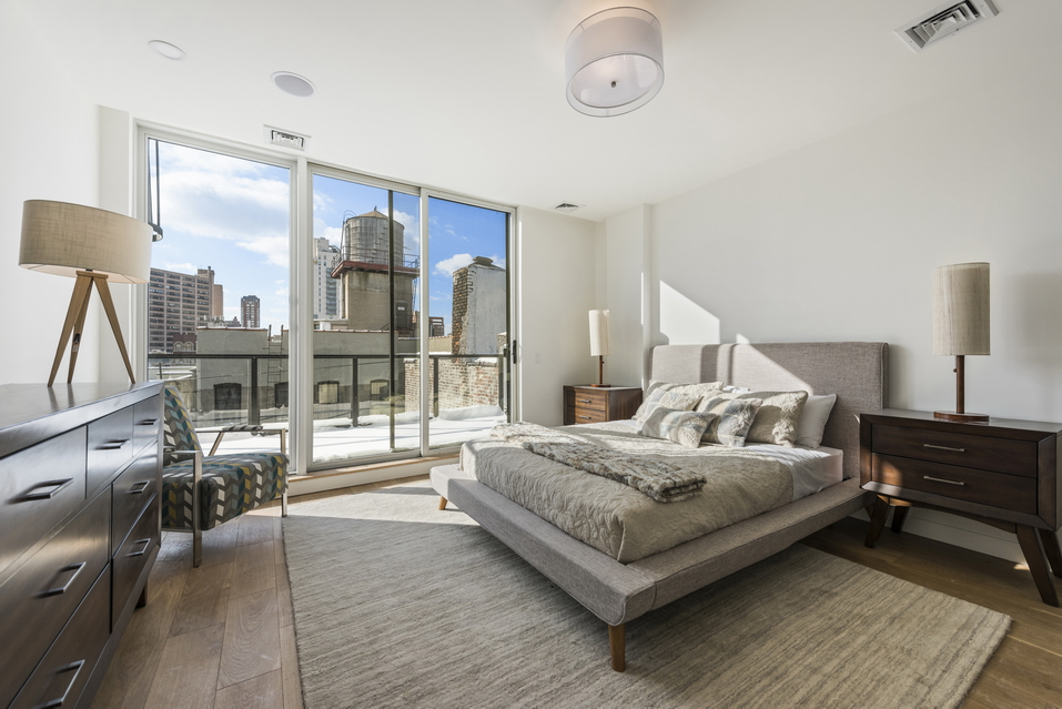 Master Bedroom of Luxury Condo
