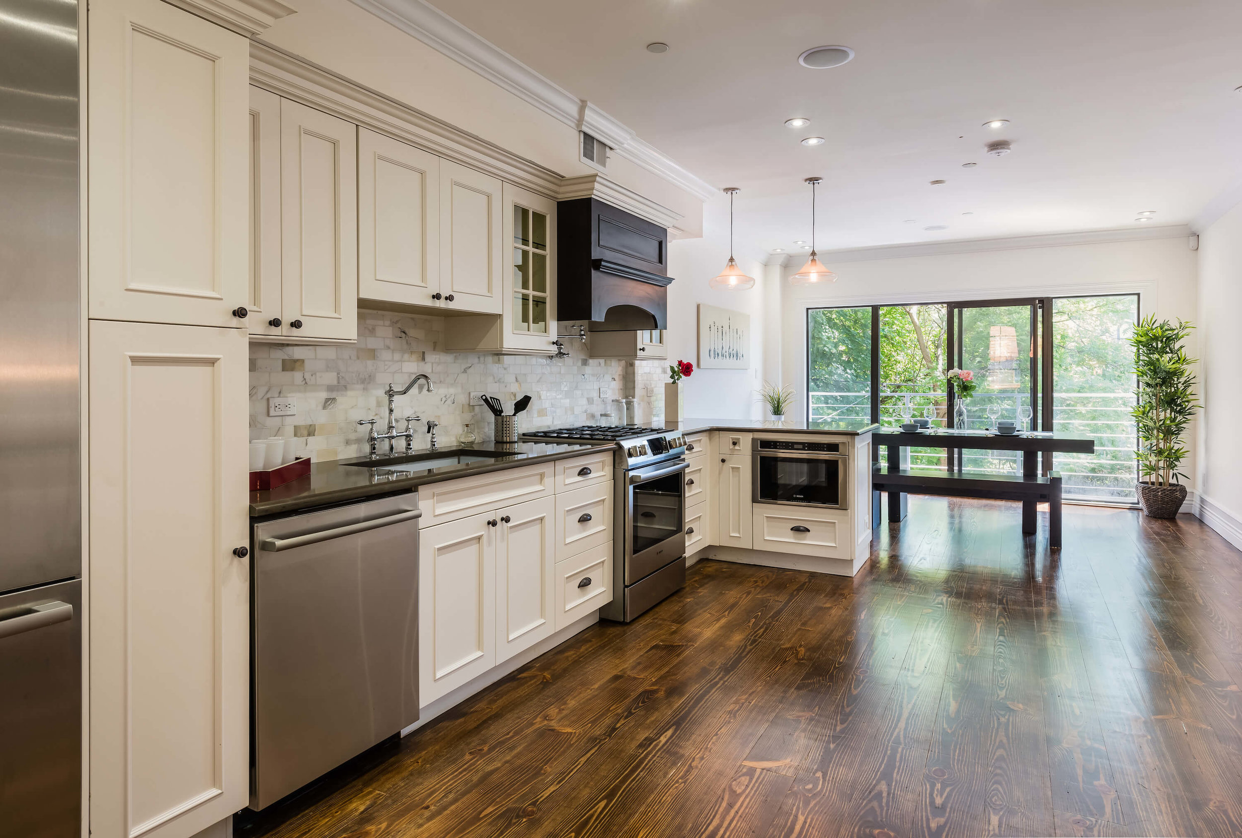 Rustic, Homey Kitchen