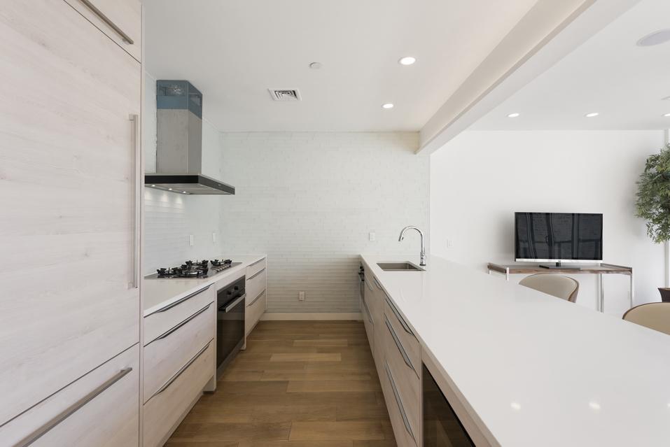 Kitchen View in Luxury Condo