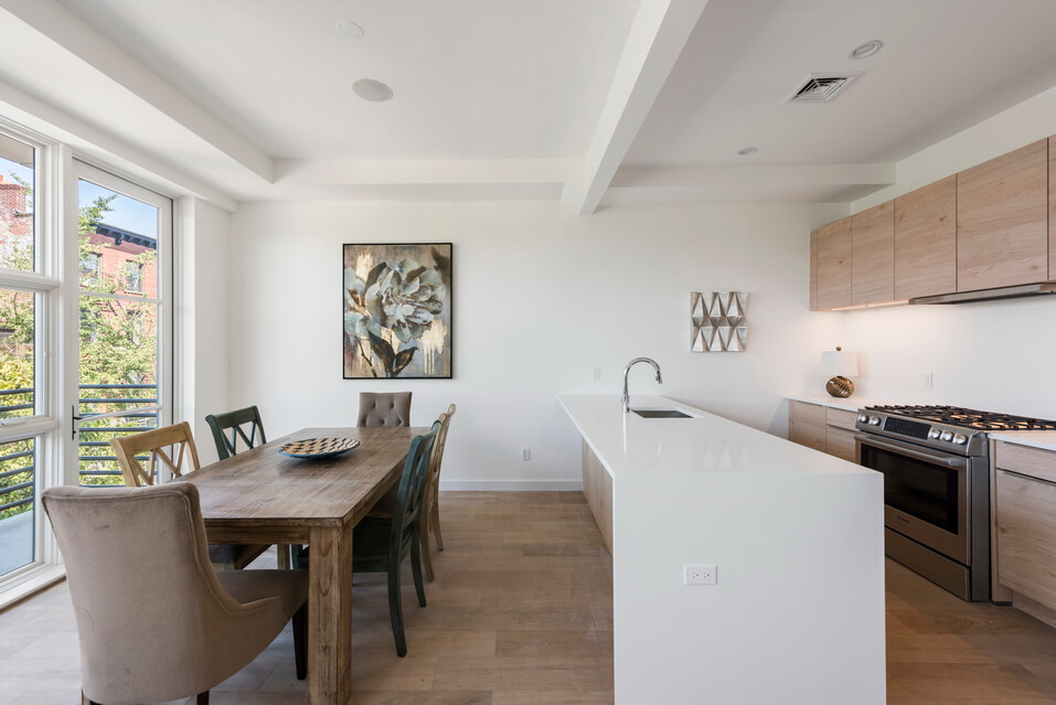 Stunning Kitchen and Dining Room