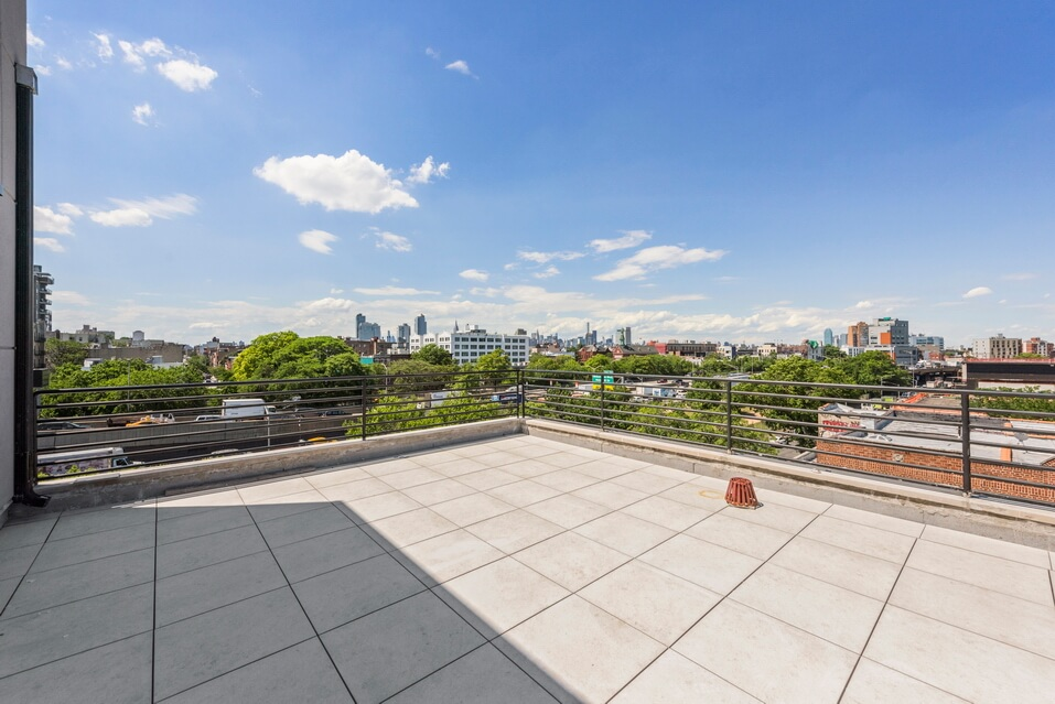 Rooftop Space in Luxury Condo Development on Grand Street