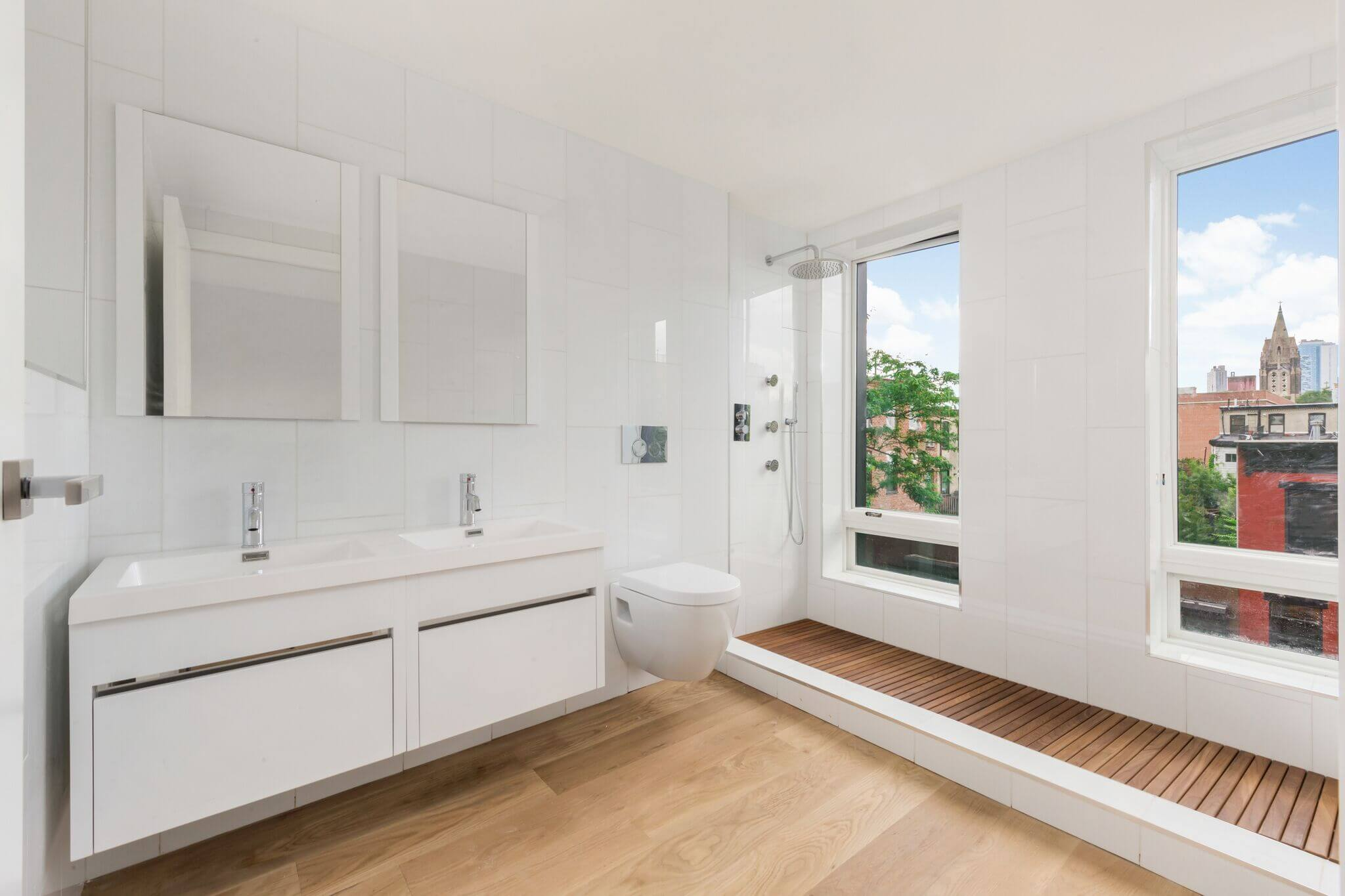 Spacious Half Bath in a Luxury Real Estate Development