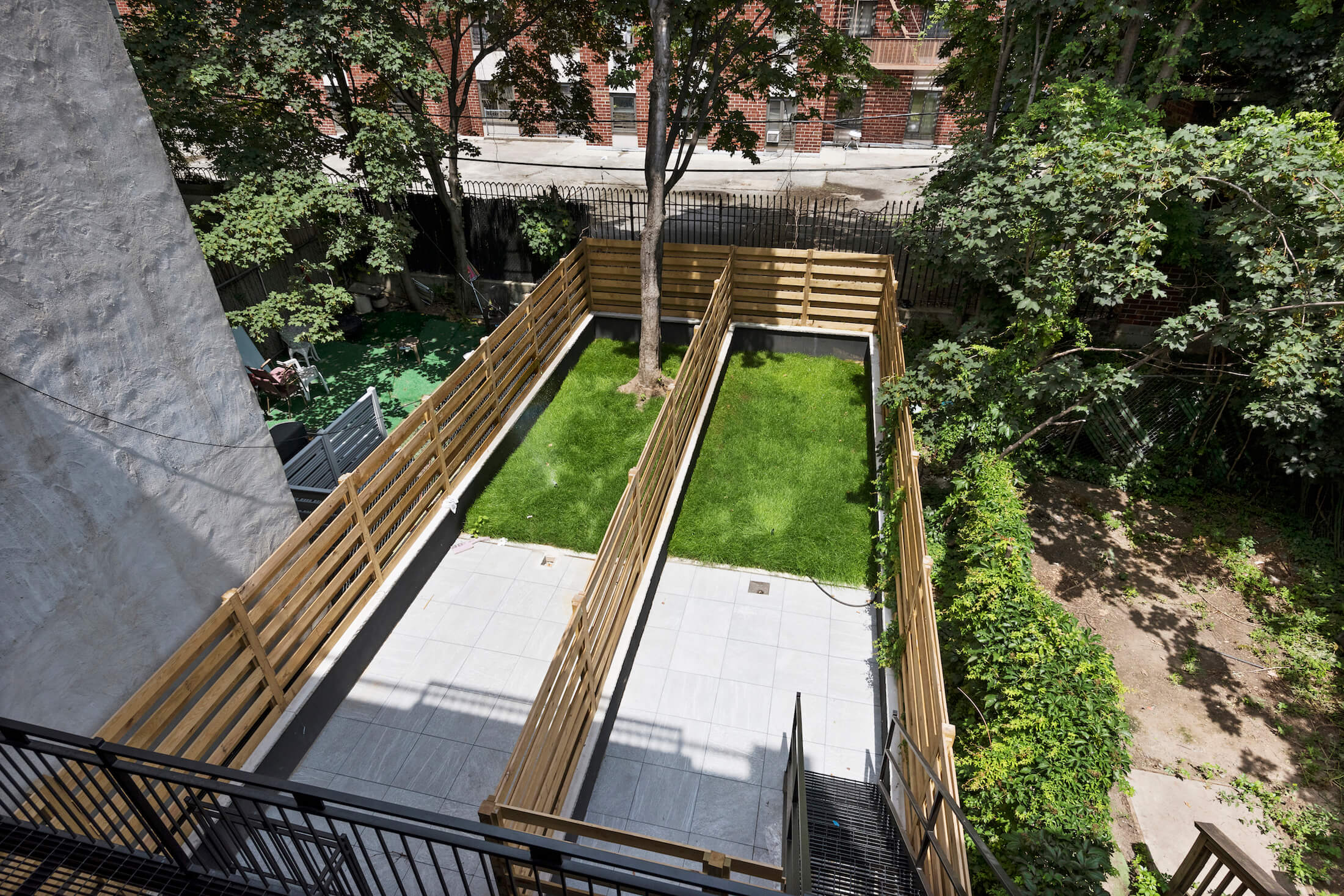 Outdoor Backyard in NYC