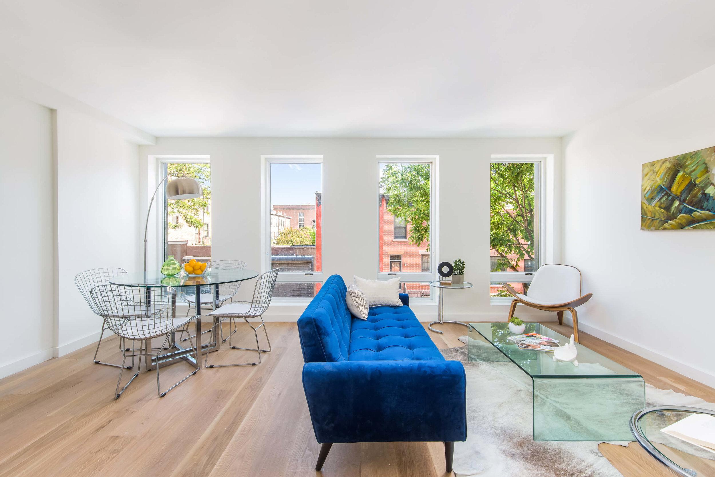 Luxurious Living Room in First Floor Duplex