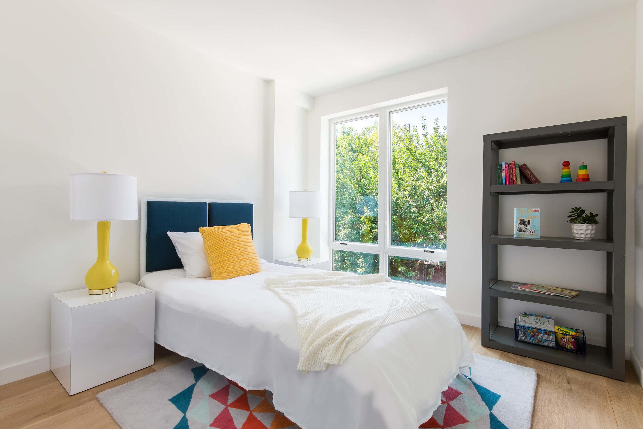 Child's Bedroom in luxury condo