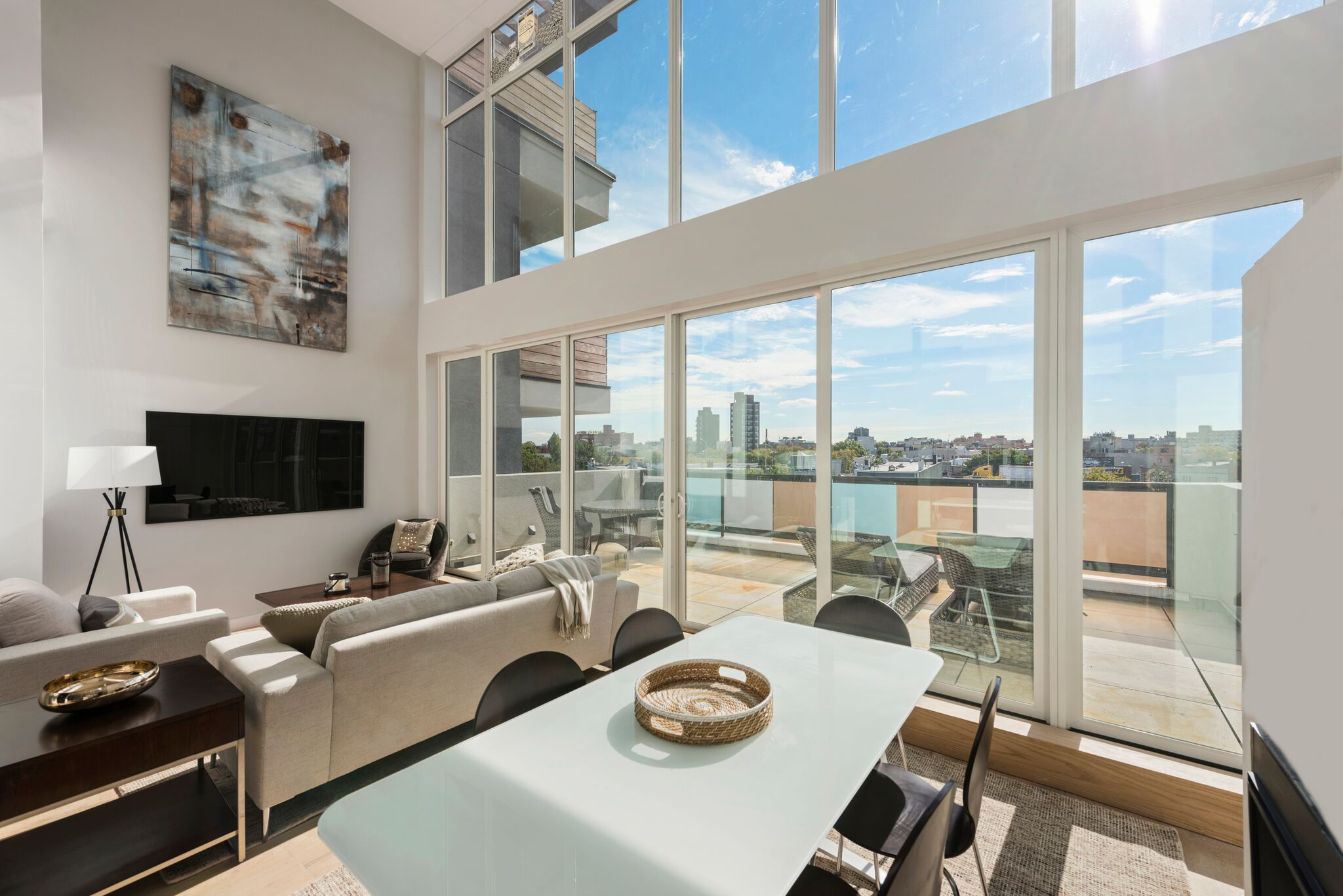Alternate View of this Condo's Living Room