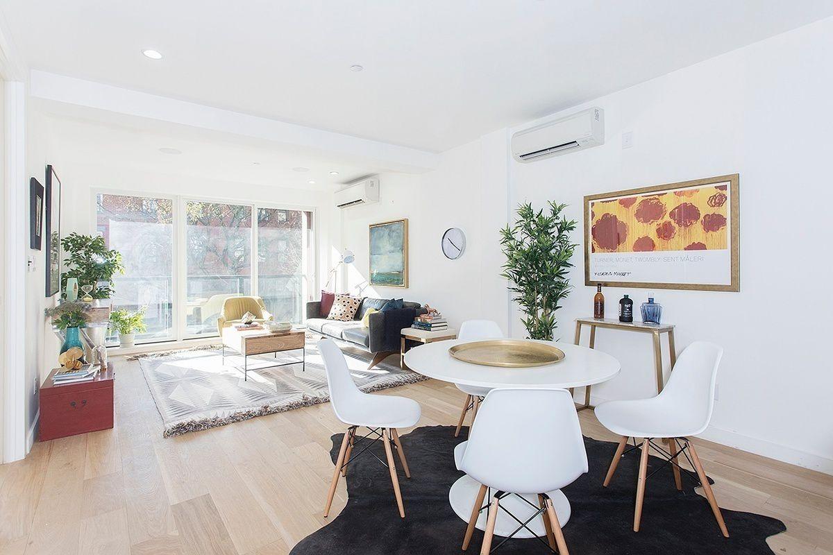 Sunny, Spacious Living Room