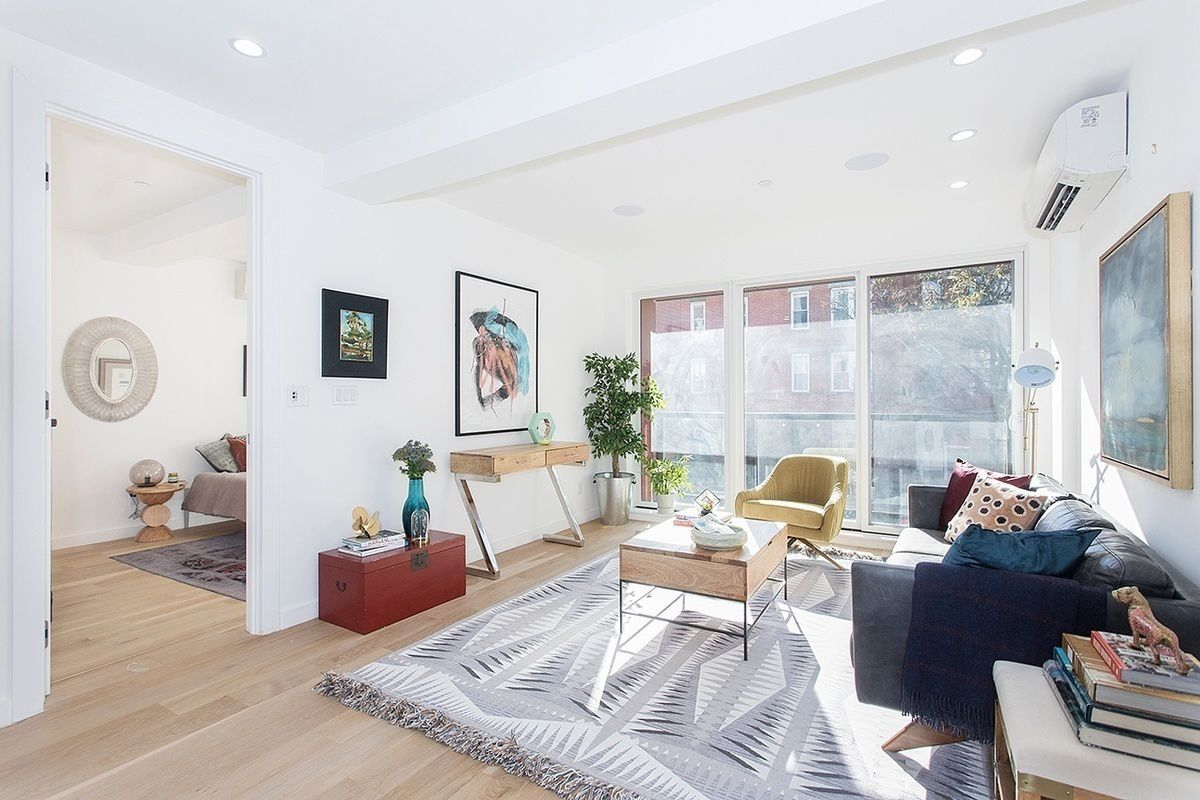 High-End Condo, Living Room View