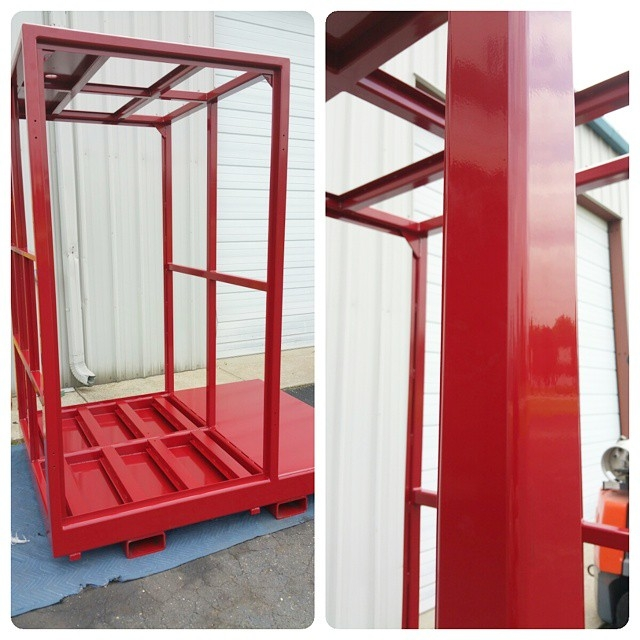 Industrial Equipment Test Frame