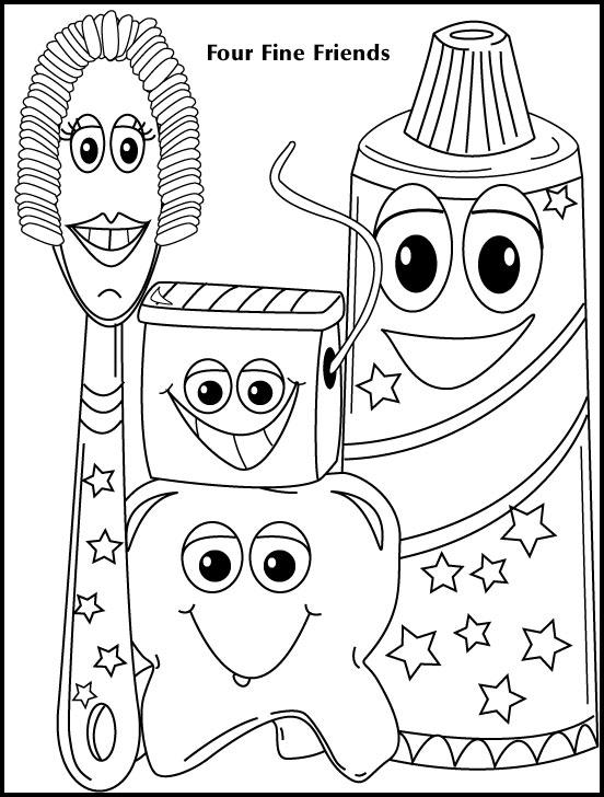 Coloring Pages Idaho Pediatric Dentistry