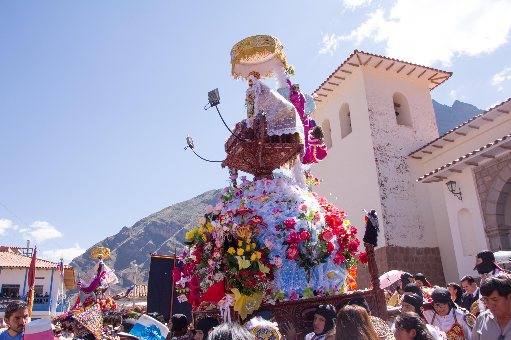Procesión of the Virgen Del Carmen