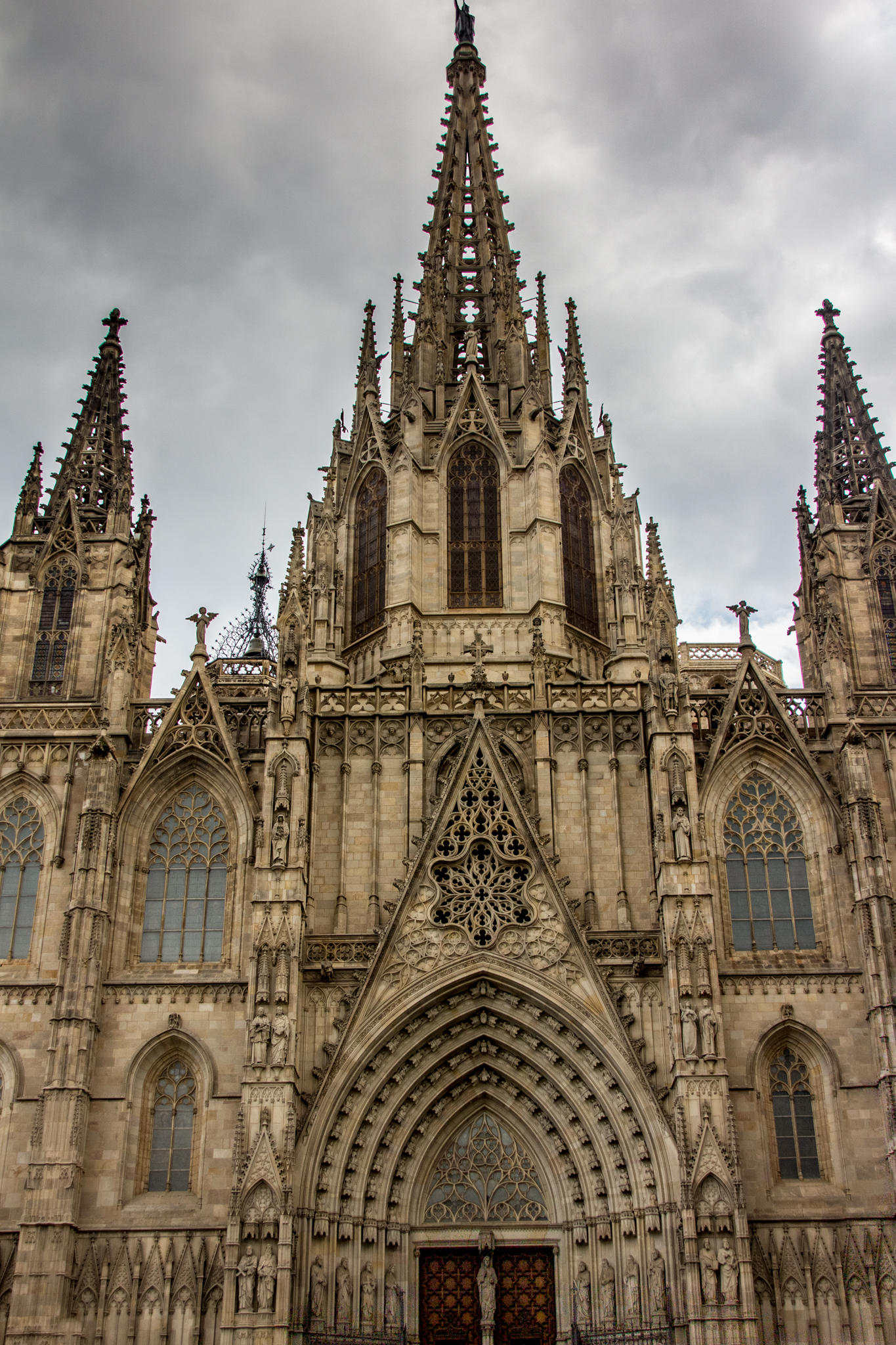 Some of my favorite architecture has been found in Barcelona and various cities in Italy. Pictured above is the Cathedral of Barcelona.