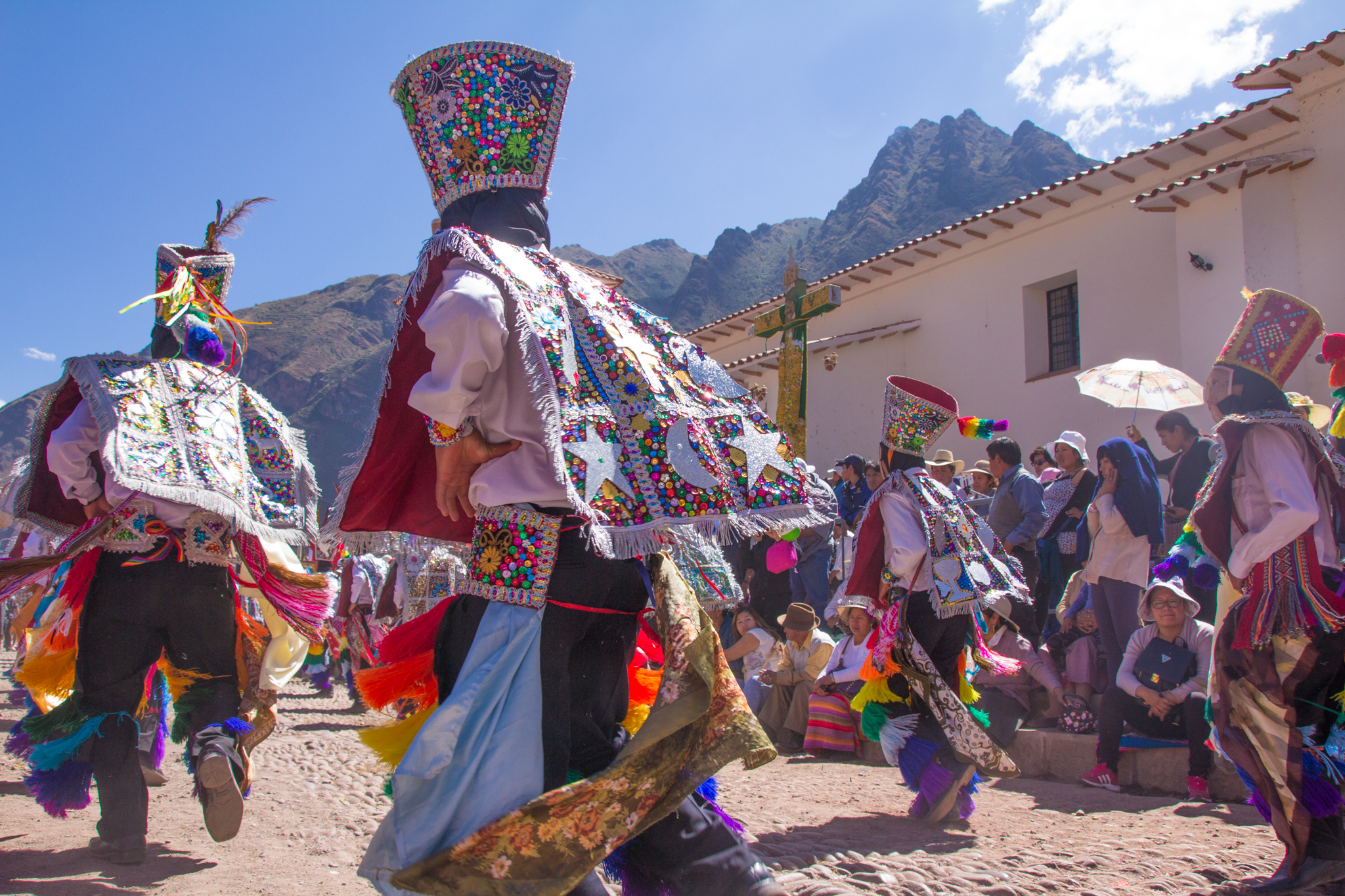 See if there are any events in the area while you are there. We got to attend this Peruvian parade and it was one of the funnest things we have done yet!