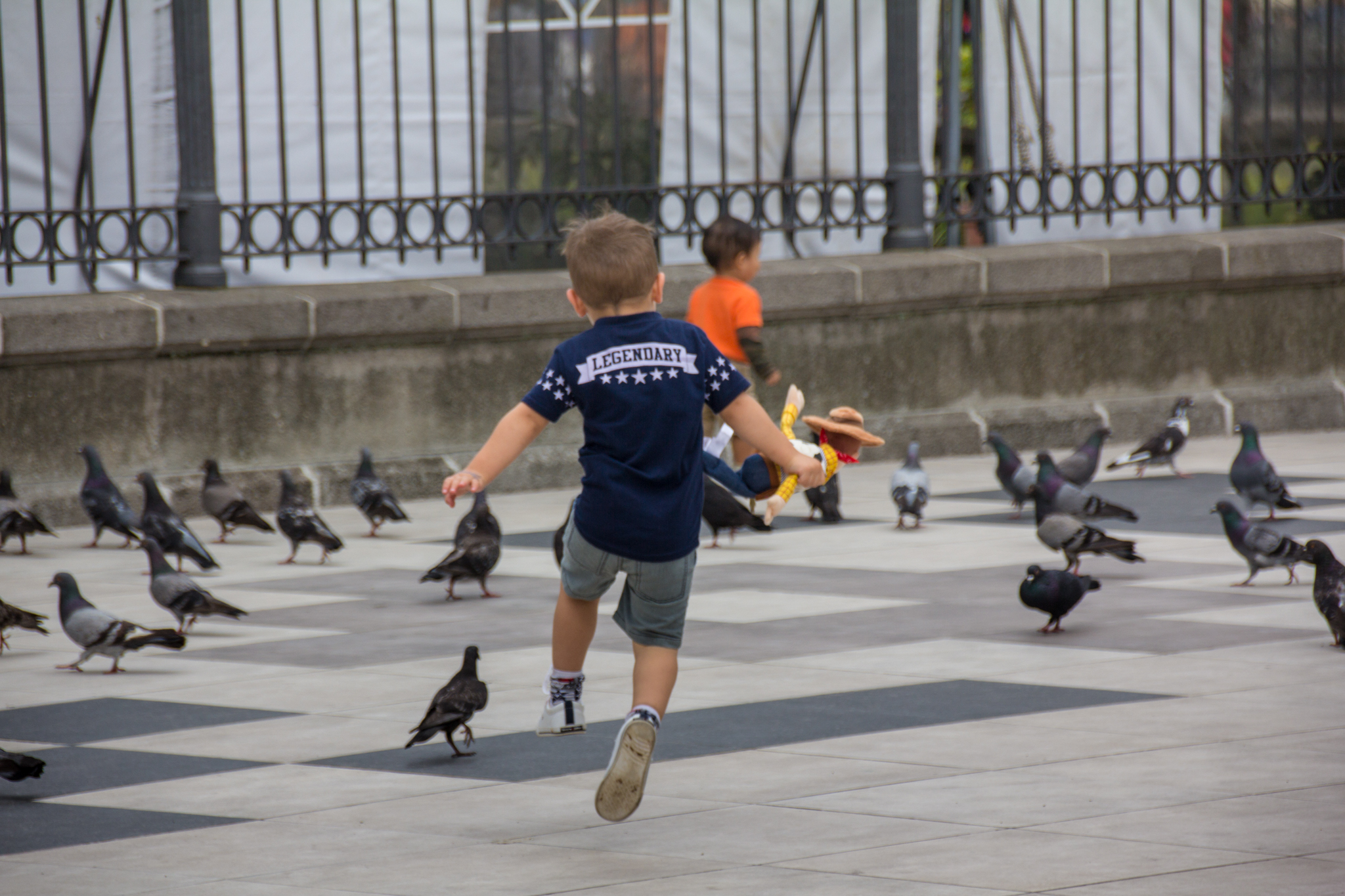 And, if all else fails, there is always a plethora of kids chasing pigeons in the main squares.