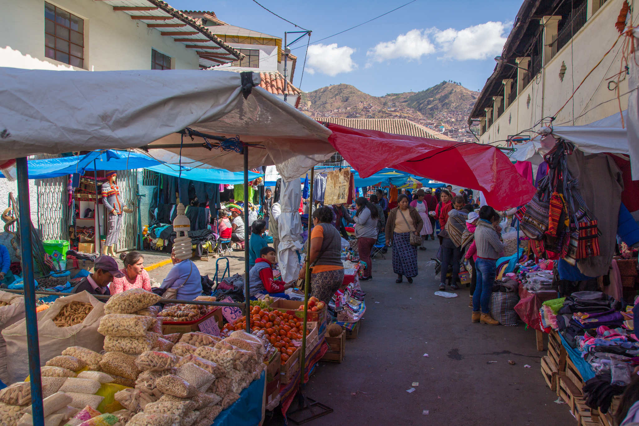 We go to many different markets, whenever we pass one on the street we always stop by!