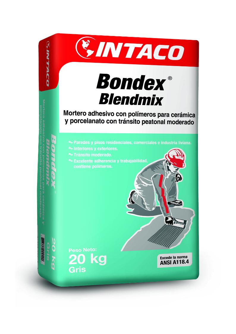 PEG BONDEX BLENDMIX 20KG GRIS - CÓDIGO IN100-11
