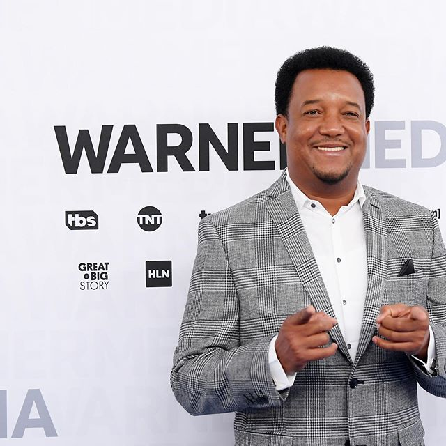 MLB on TBS analyst @45pedromartinez hit the blue carpet for today's #WarnerMediaUpfront.