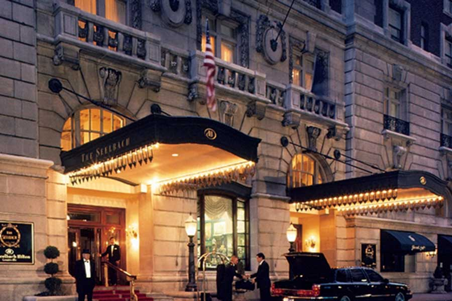 the seelbach hotel in louisville kentucky