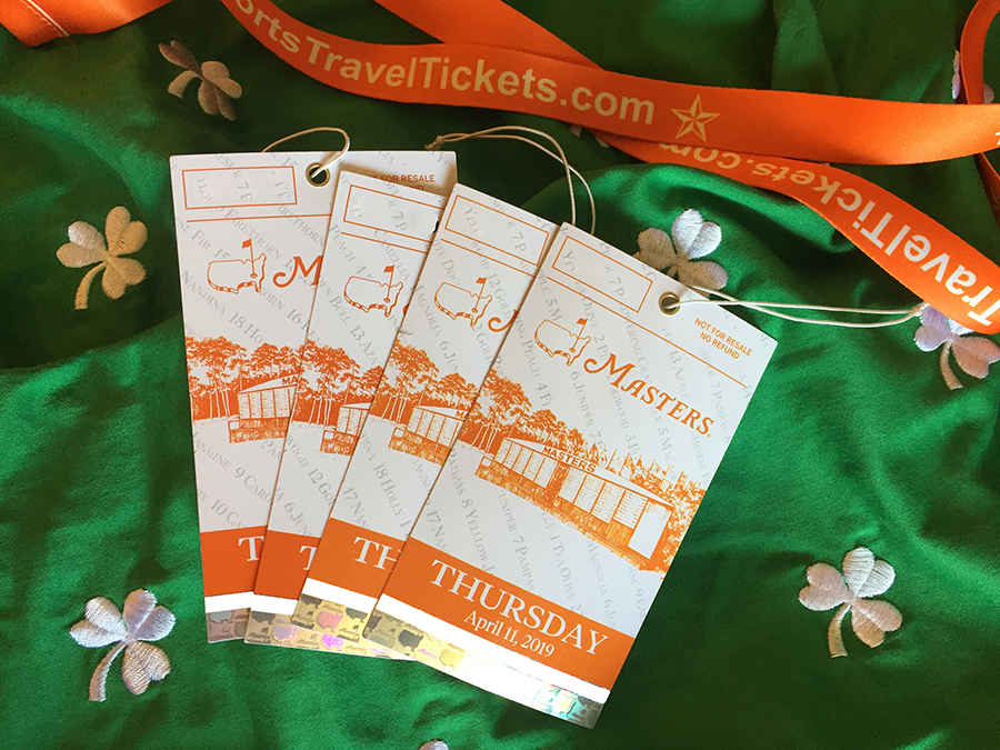 Masters Tournament Badges Tickets golf travel hospitality Augusta National golf 2020.jpg