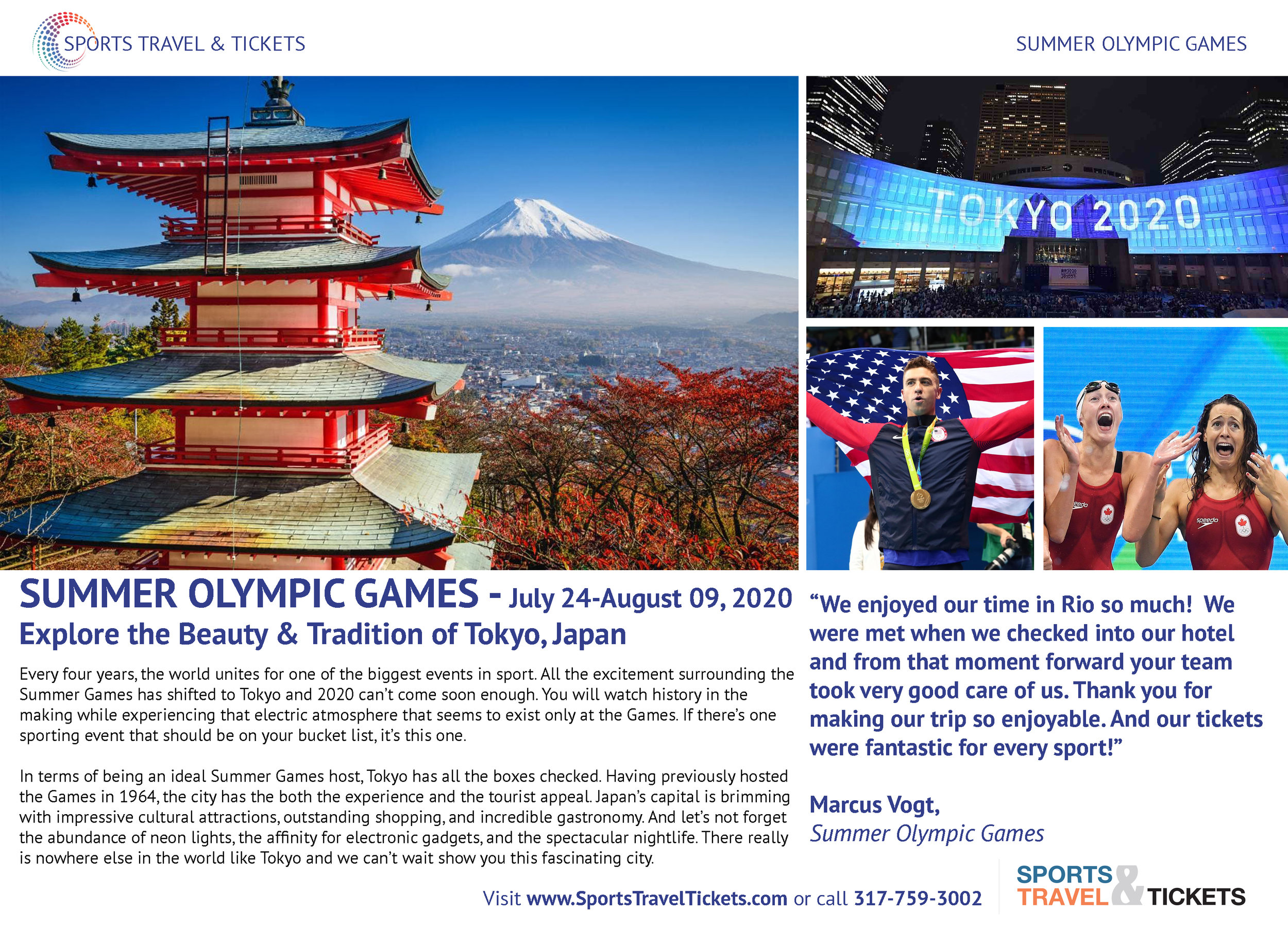 Sports Travel & Tickets Brochure Summer Olympic Games travel tickets.jpg